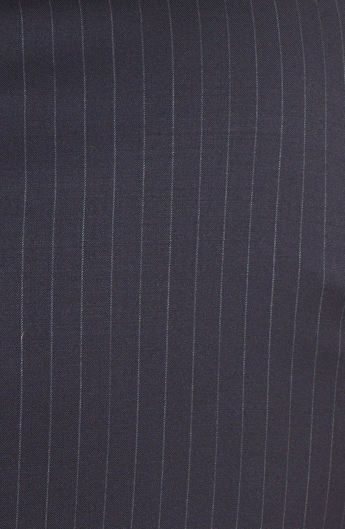 New York Classic Fit Stripe Wool Suit,                             Alternate thumbnail 16, color,