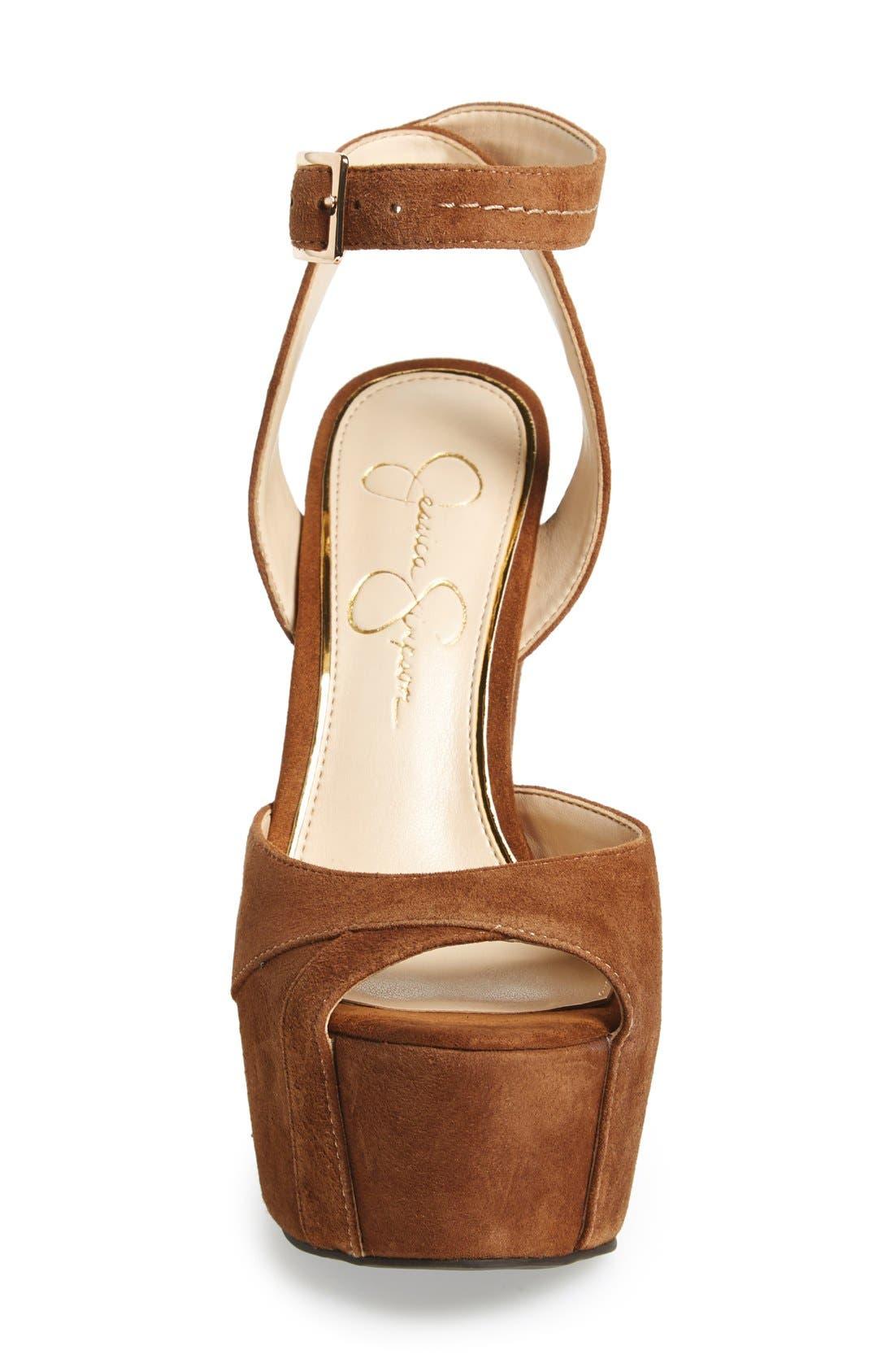 'Dimaya' Platform Sandal,                             Alternate thumbnail 3, color,                             241