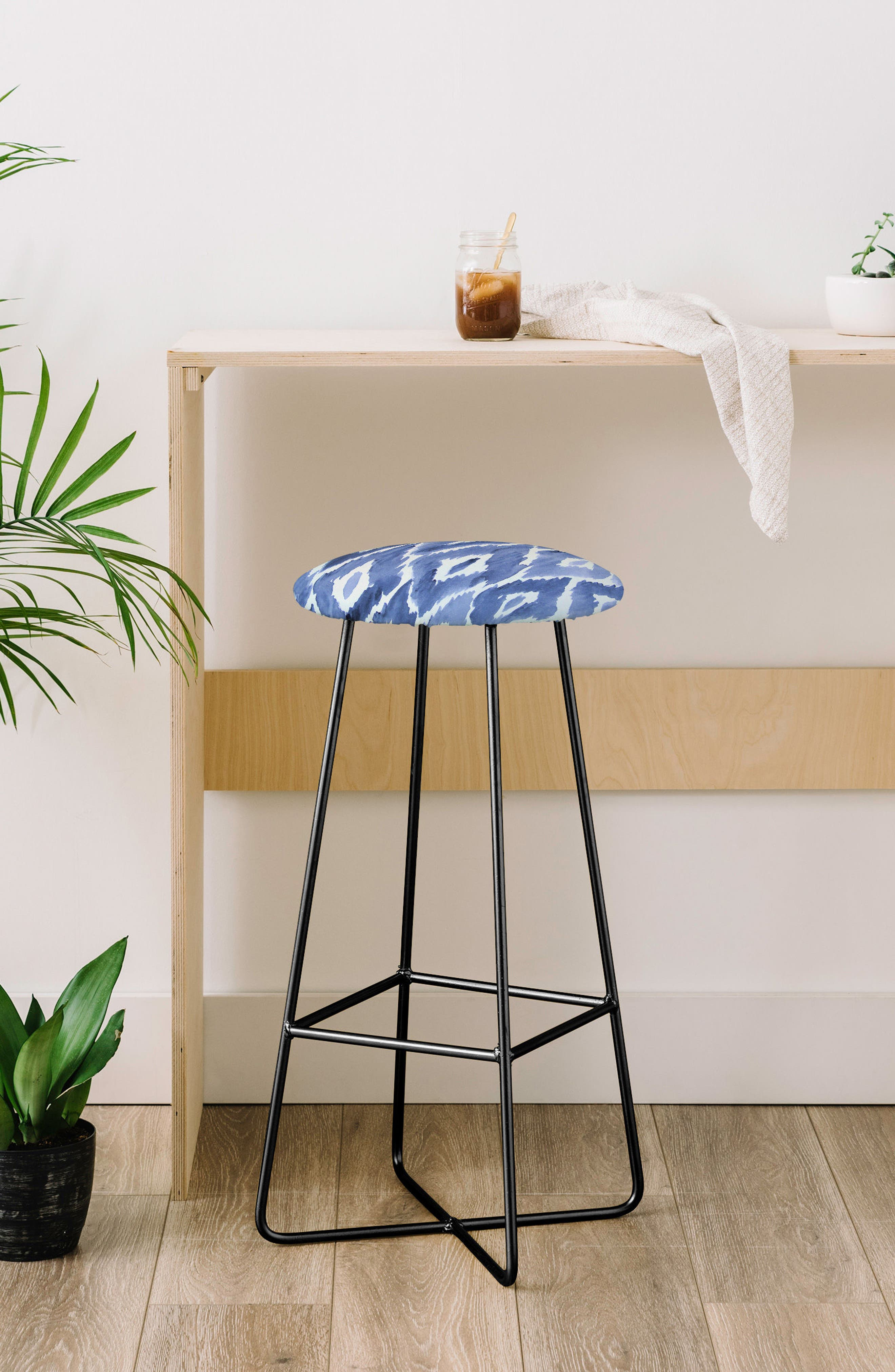 Print Bar Stool,                             Alternate thumbnail 6, color,