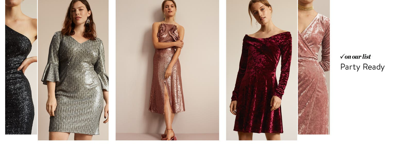 The party dress edit.