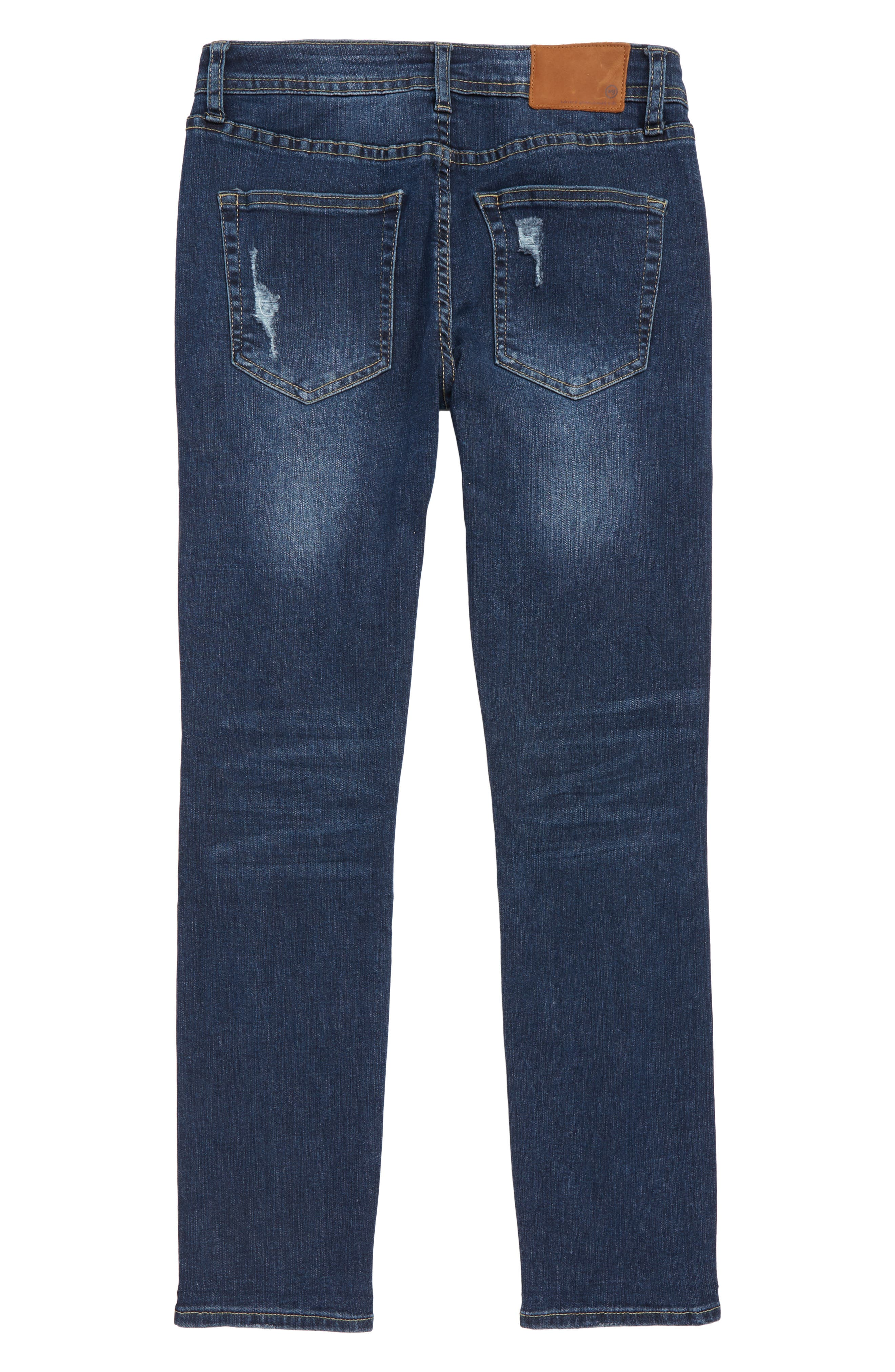The Jax Distressed Jeans,                             Alternate thumbnail 2, color,                             490