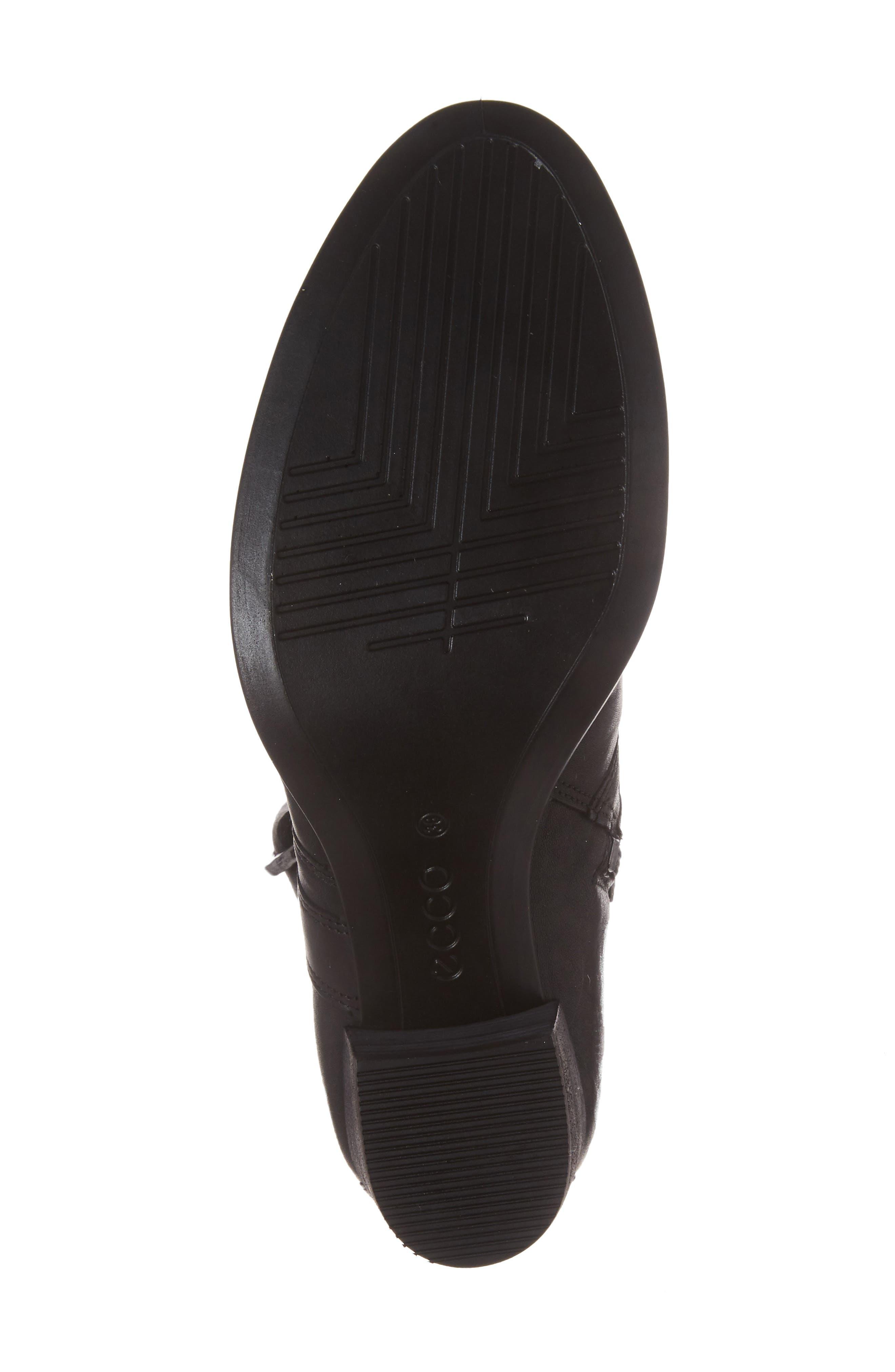 Shape 55 Block Heel Bootie,                             Alternate thumbnail 6, color,                             001