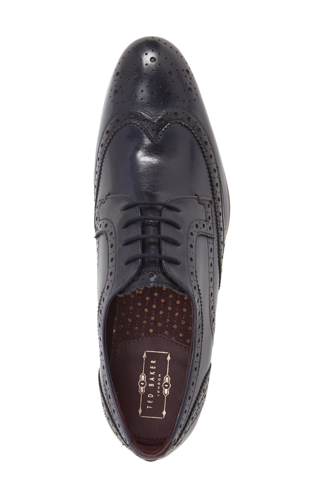 'Gryene' Wingtip Oxford,                             Alternate thumbnail 12, color,