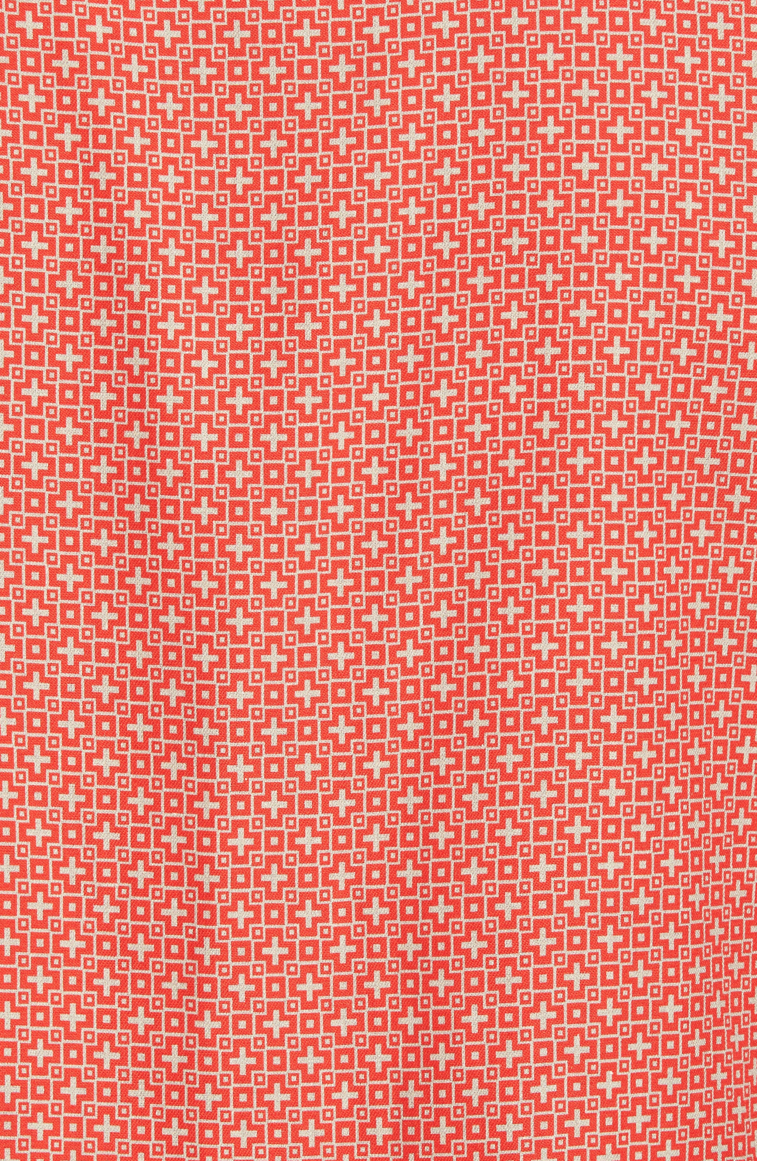 Everest Print Silk Blend Sport Shirt,                             Alternate thumbnail 15, color,
