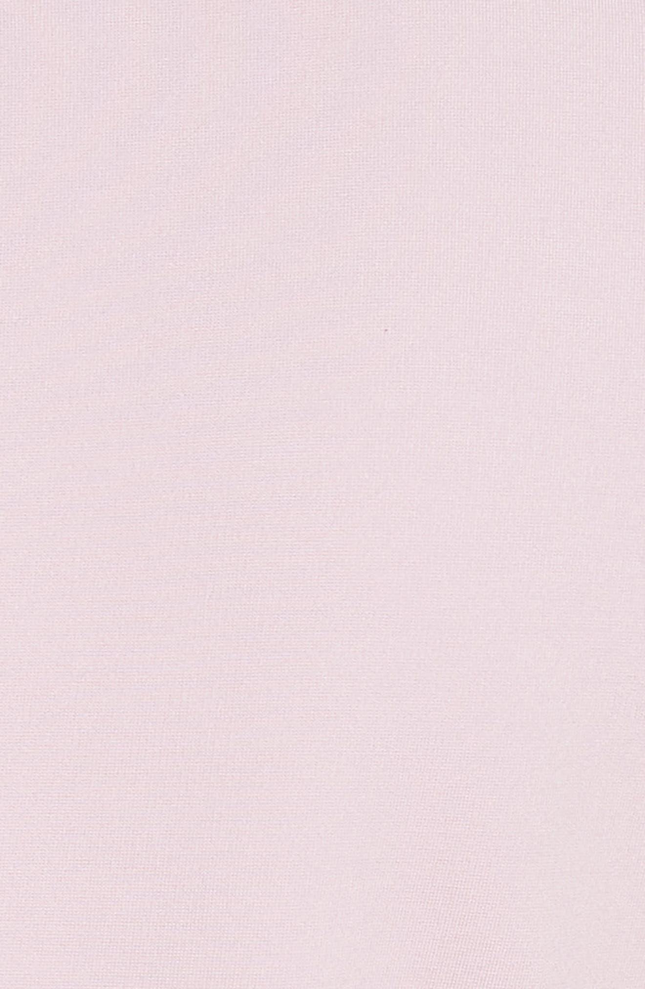 TED BAKER LONDON,                             Satin Pleat Detail Shift Dress,                             Alternate thumbnail 5, color,                             680