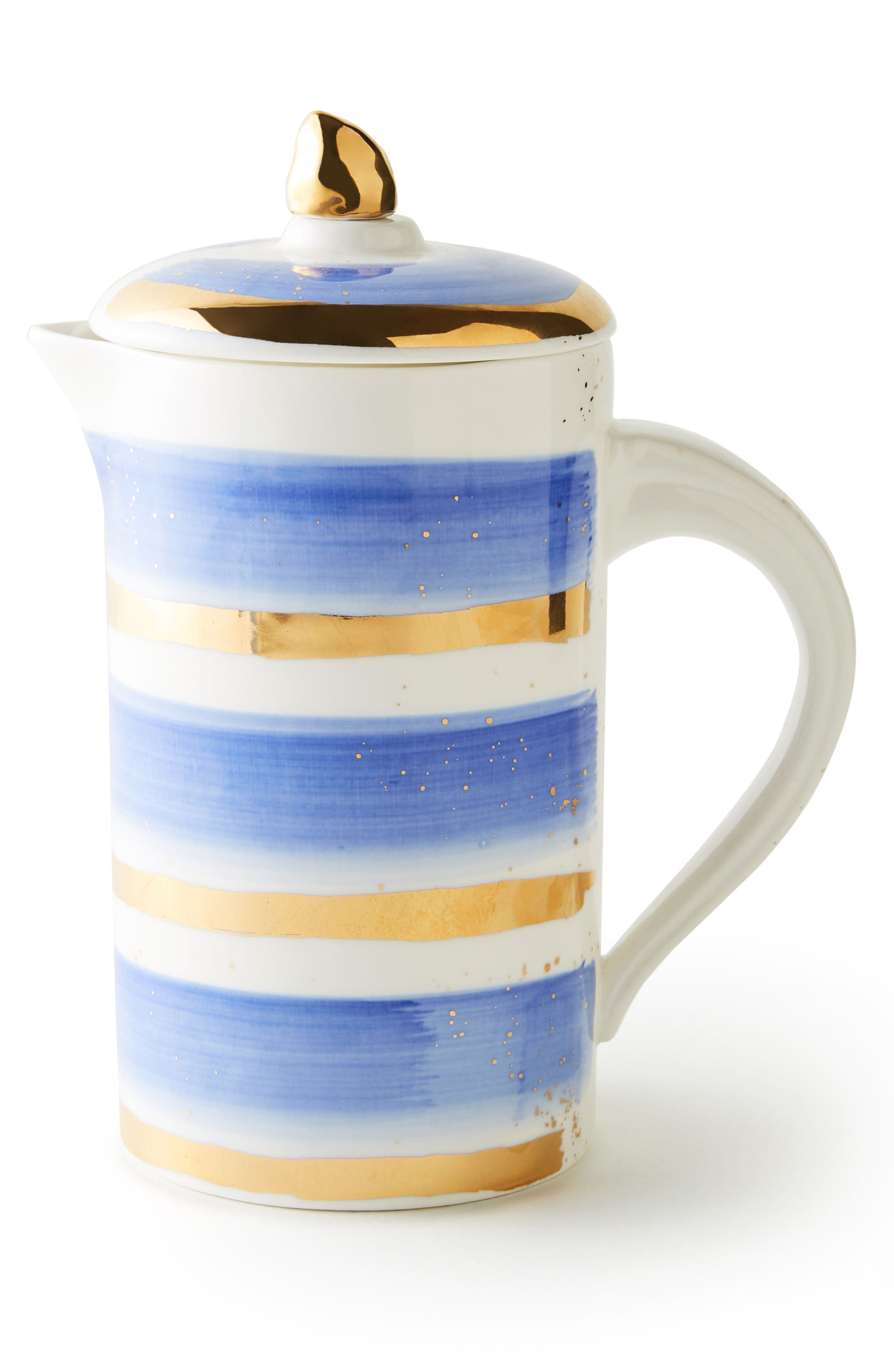 ANTHROPOLOGIE,                             Mimira Stoneware French Press,                             Alternate thumbnail 3, color,                             400