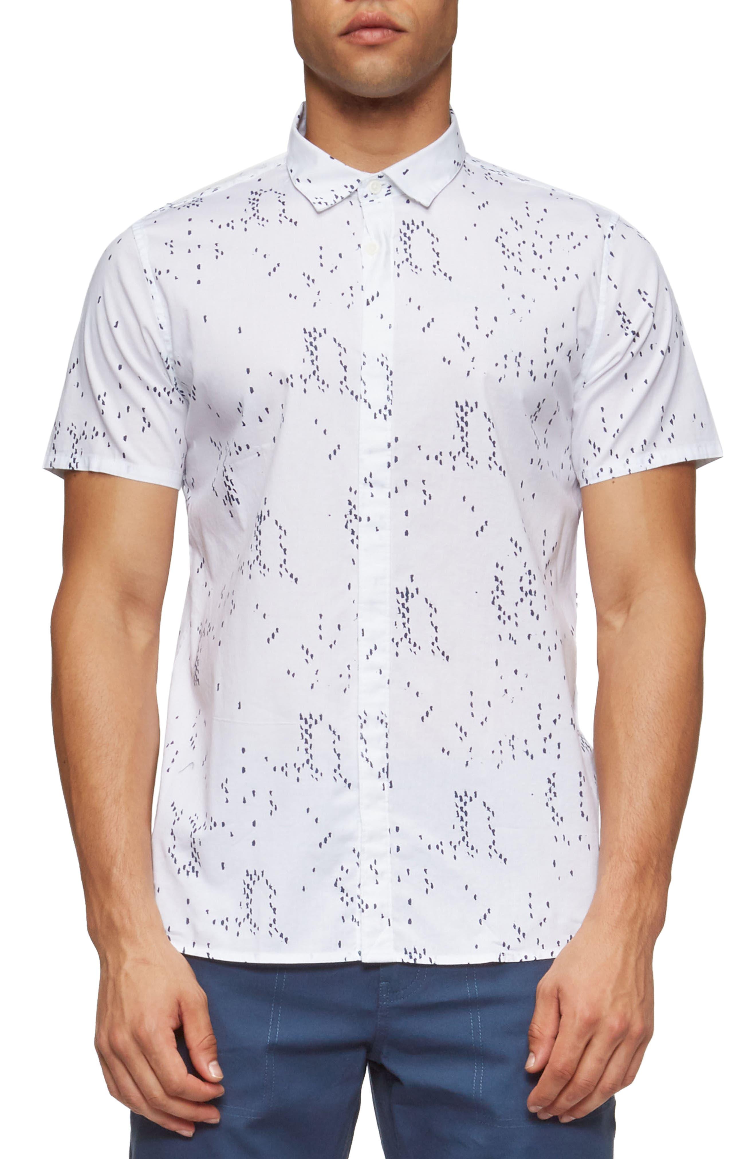 Bowery Short Sleeve Shirt,                             Main thumbnail 3, color,