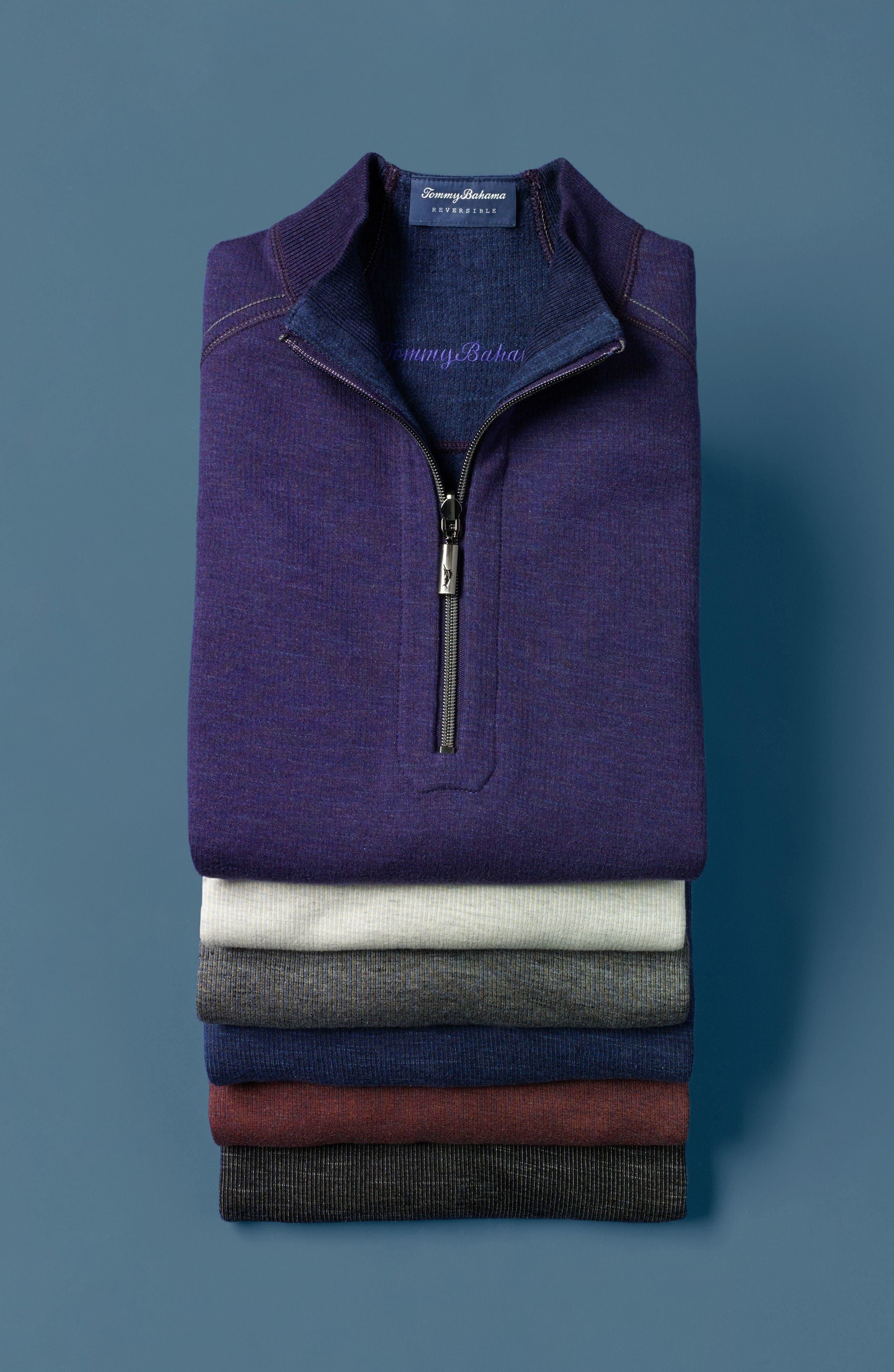 Flipsider Reversible Quarter-Zip Pullover, Main, color, 003