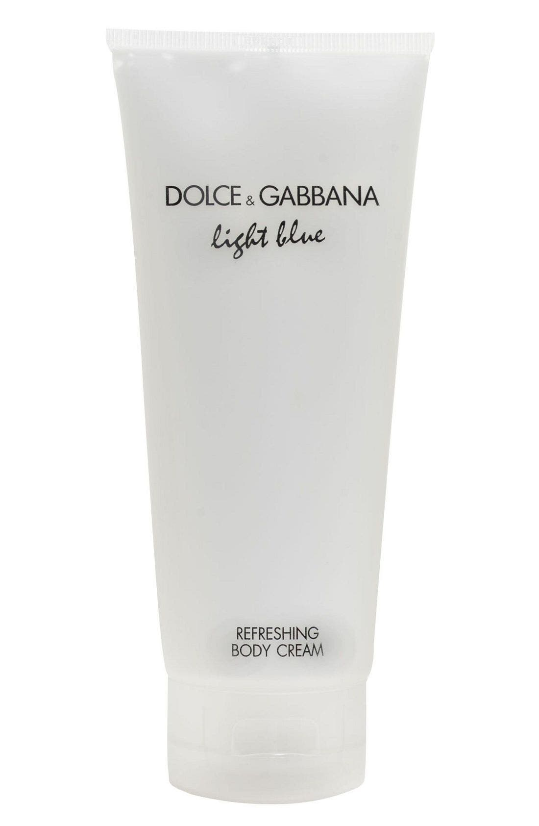 'Light Blue' Refreshing Body Cream,                             Main thumbnail 1, color,                             NO COLOR