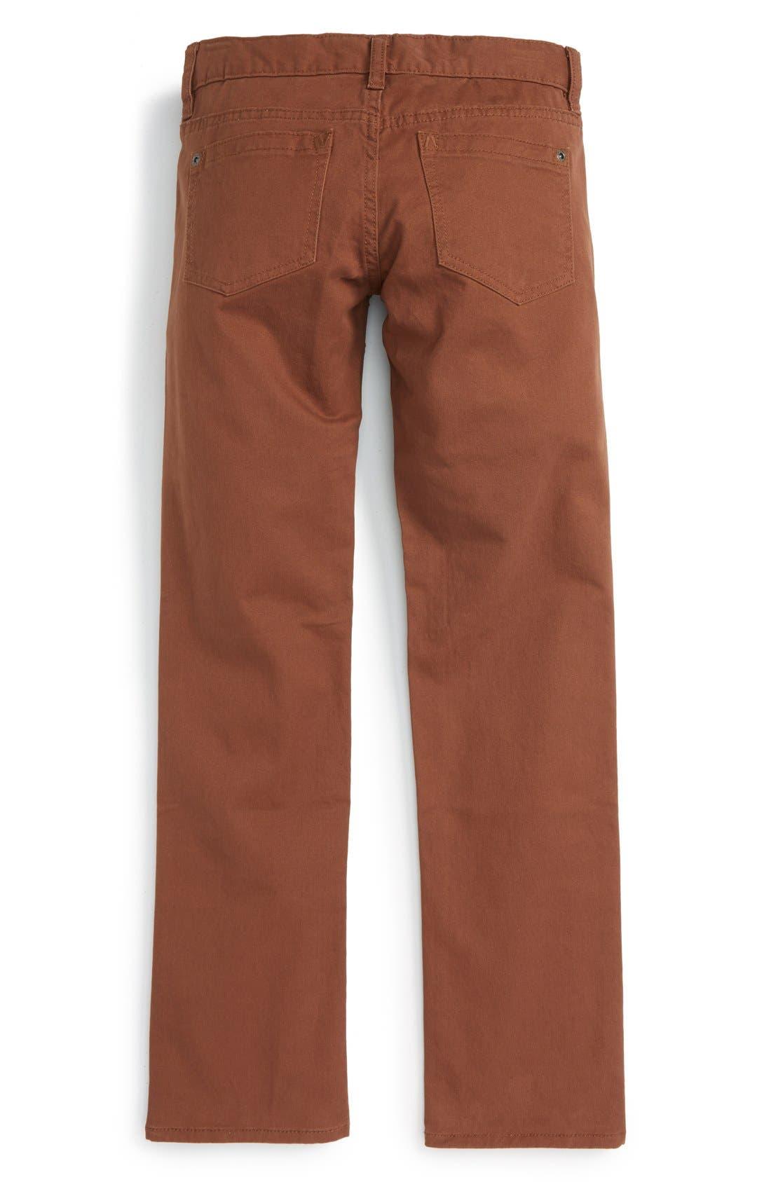 'Daggers' Slim Fit Twill Pants,                             Alternate thumbnail 8, color,