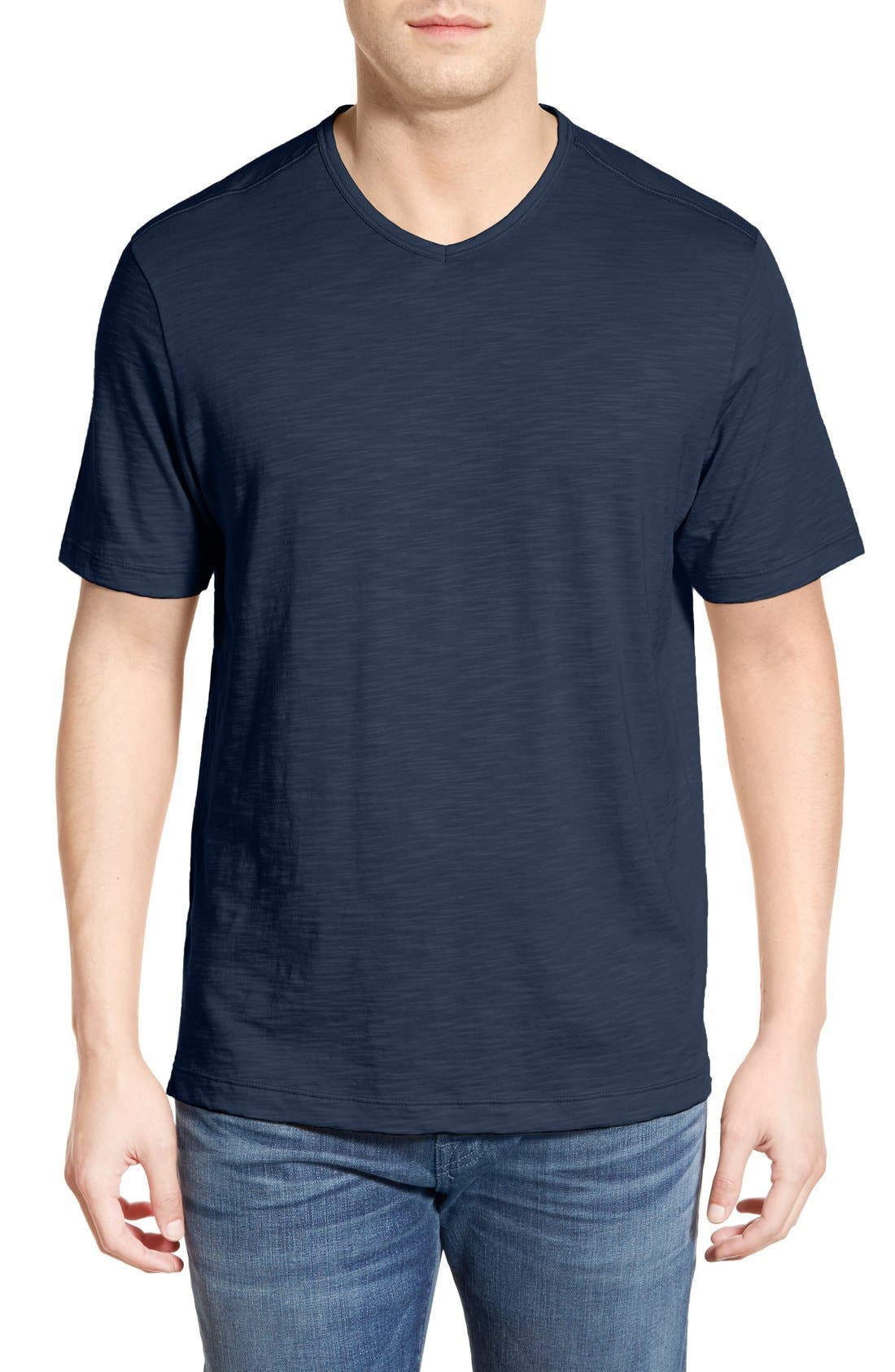 'Portside Player' Pima Cotton T-Shirt,                             Main thumbnail 8, color,