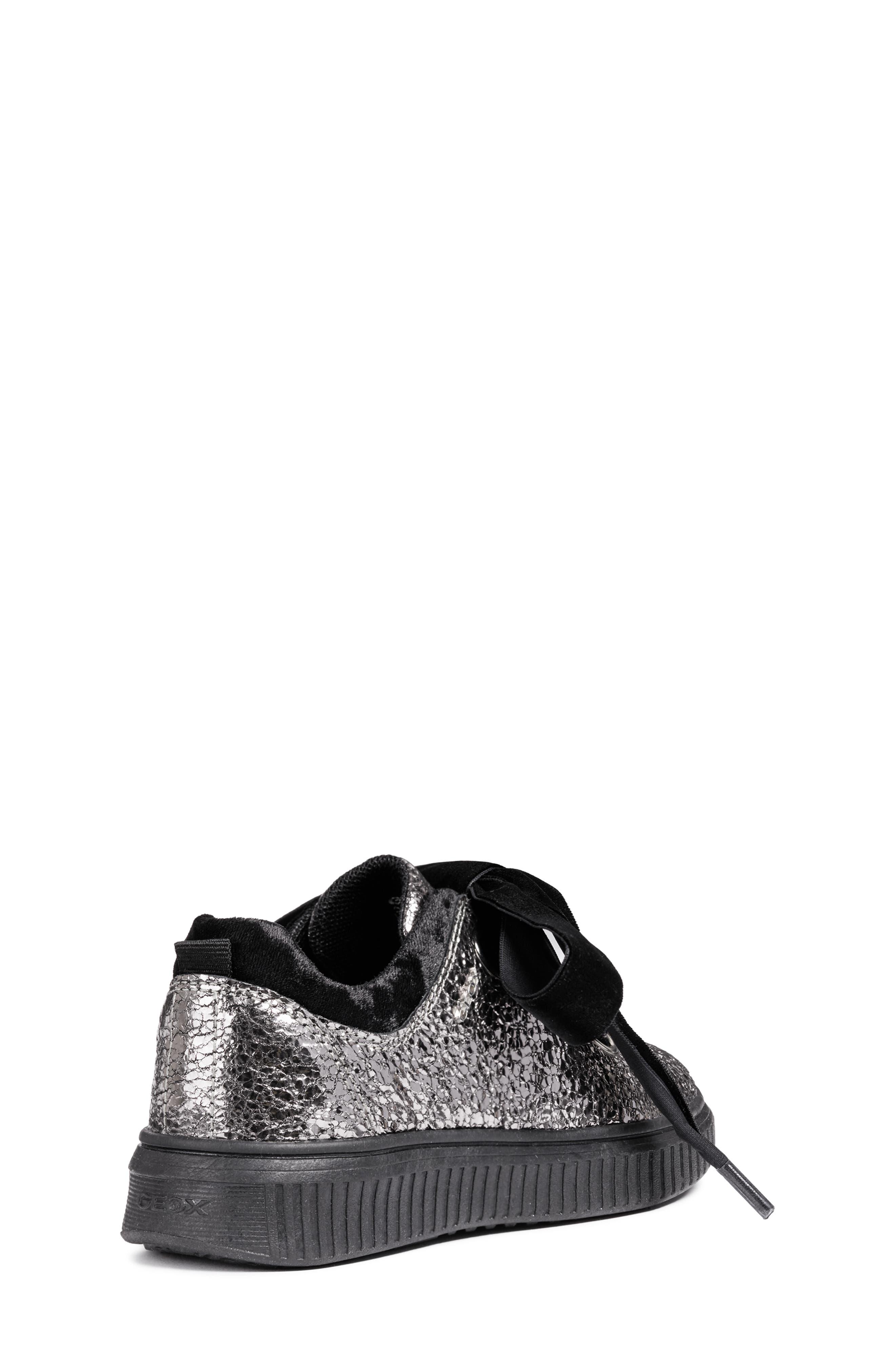 Disco Mix Sneaker,                             Alternate thumbnail 8, color,                             DARK SILVER