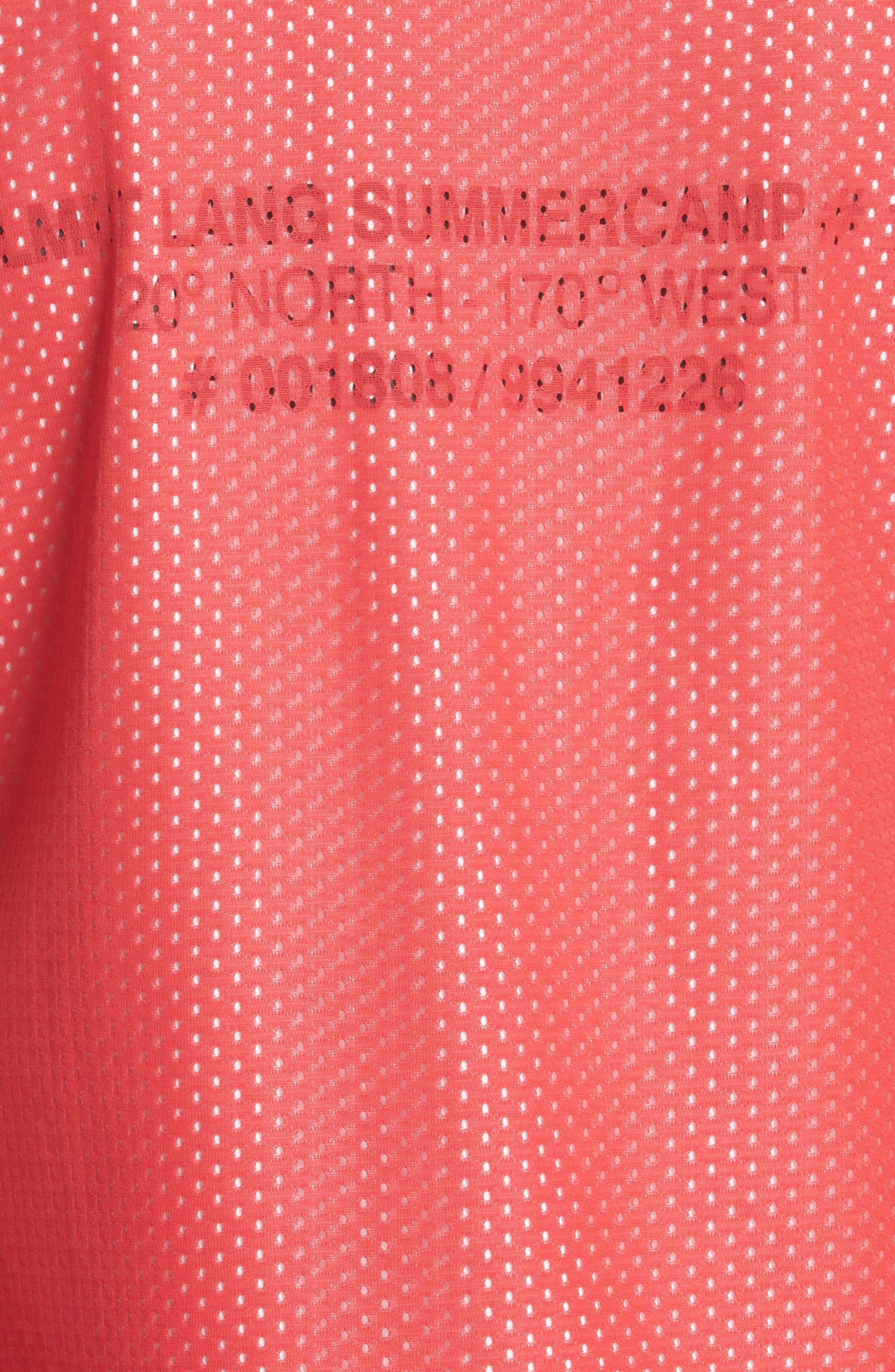 Mesh Layer Dress,                             Alternate thumbnail 5, color,                             601