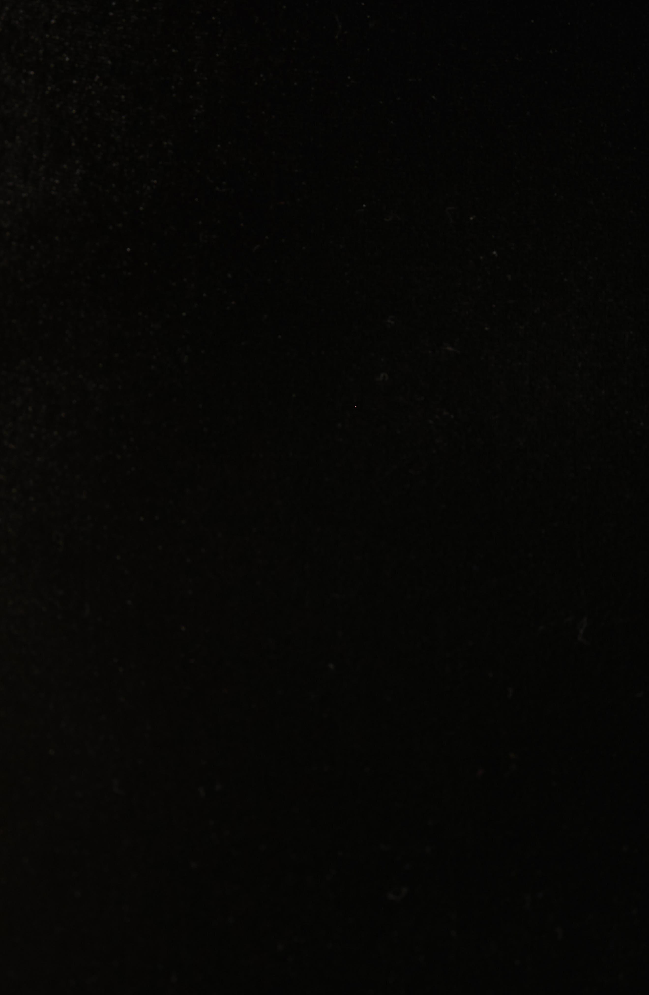 Awwtum One-Shoulder Velvet Body-Con Dress,                             Alternate thumbnail 5, color,                             BLACK