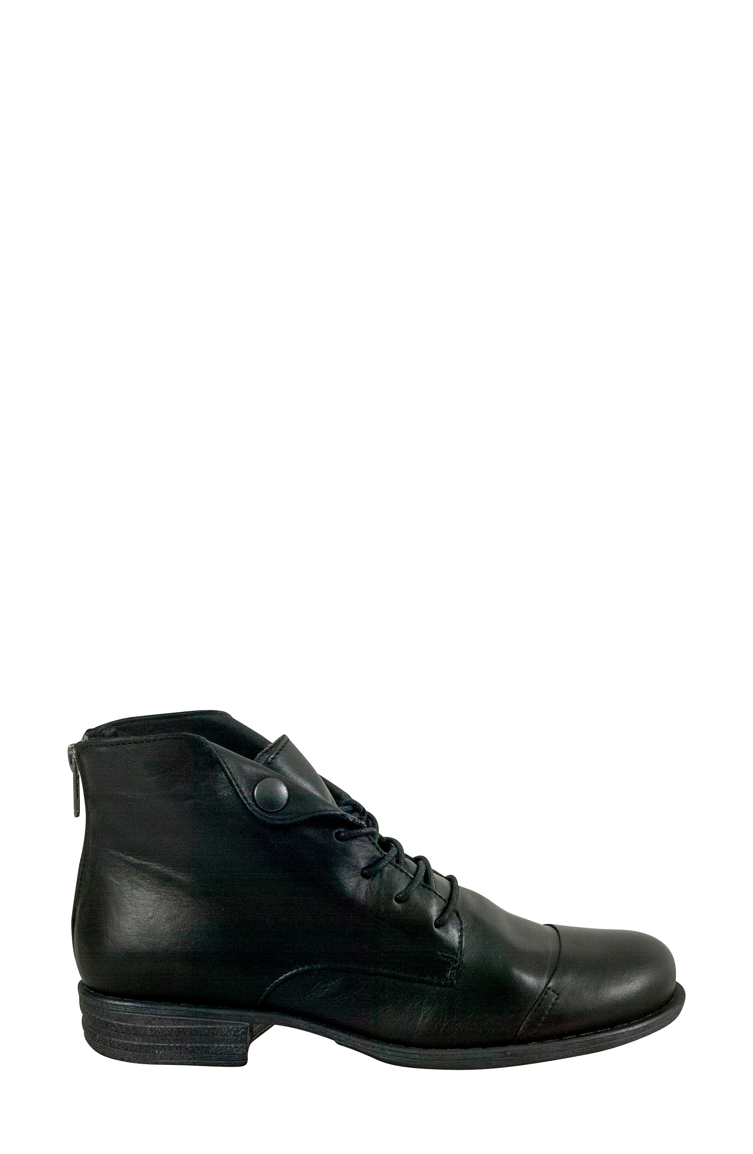 Lennox Lace-Up Bootie,                             Alternate thumbnail 3, color,                             001