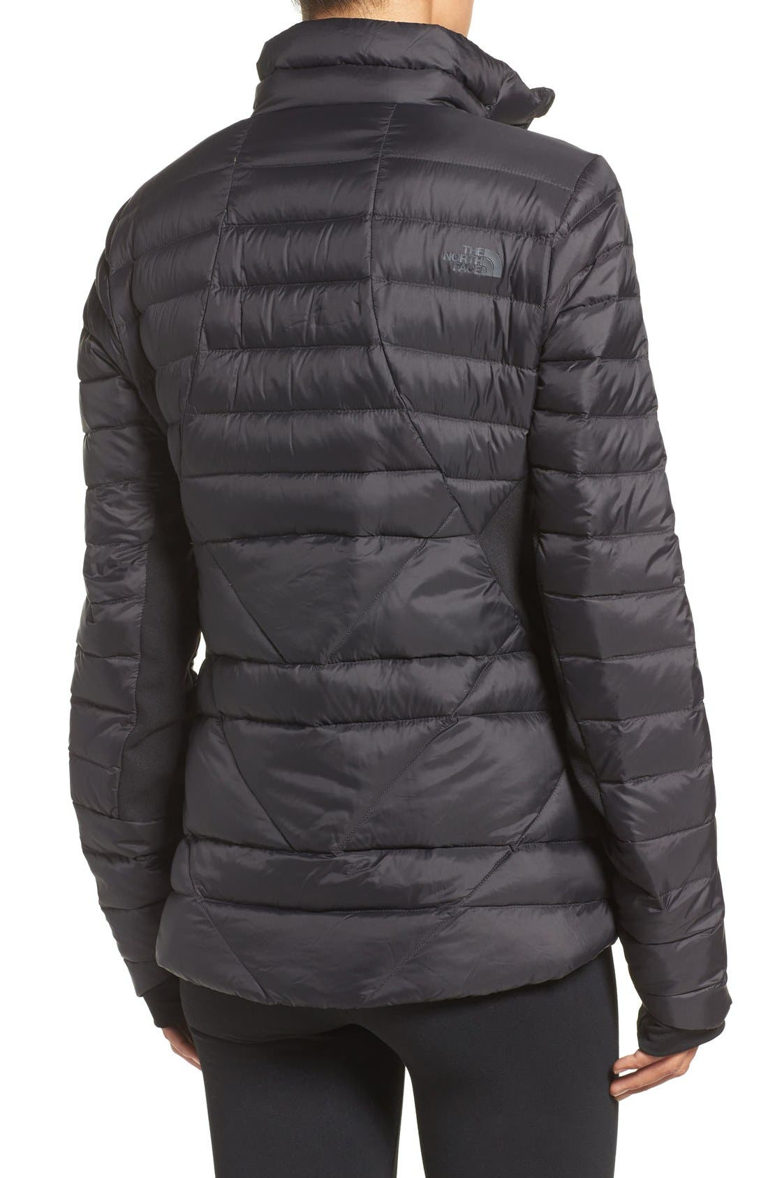 THE NORTH FACE,                             Lucia Hybrid Down Jacket,                             Alternate thumbnail 2, color,                             001