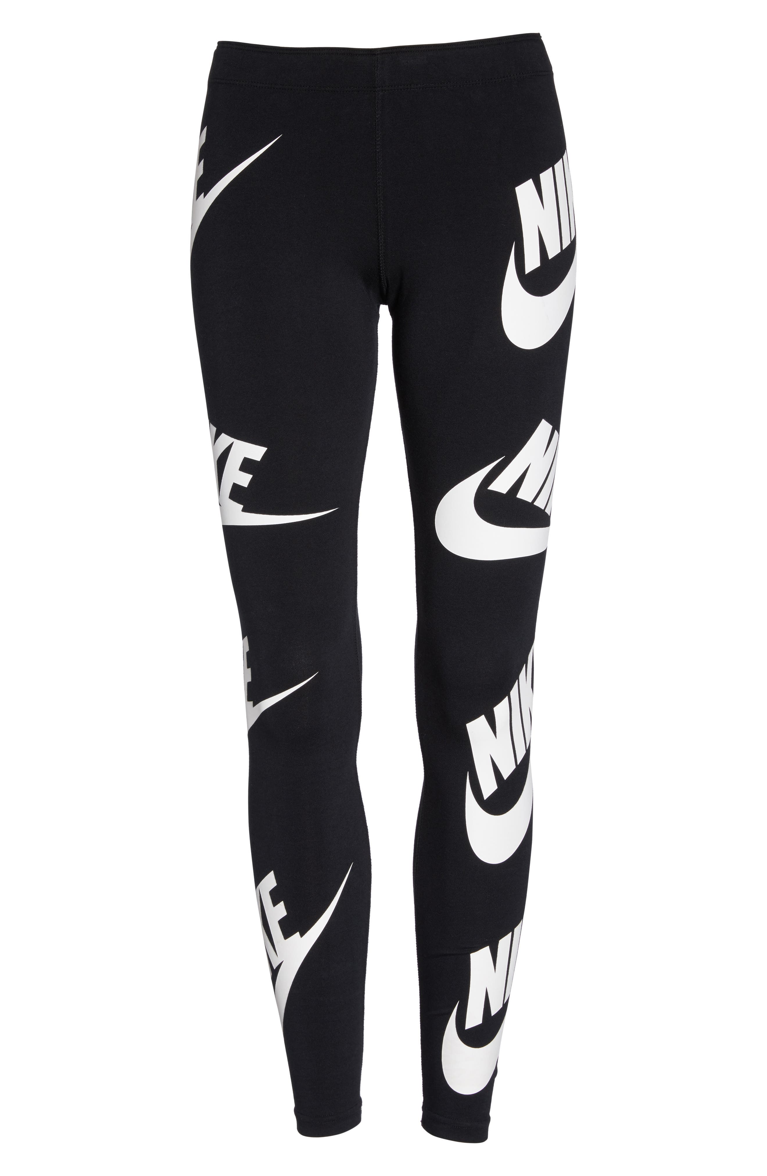 Sportswear Graphic Leggings,                             Alternate thumbnail 22, color,
