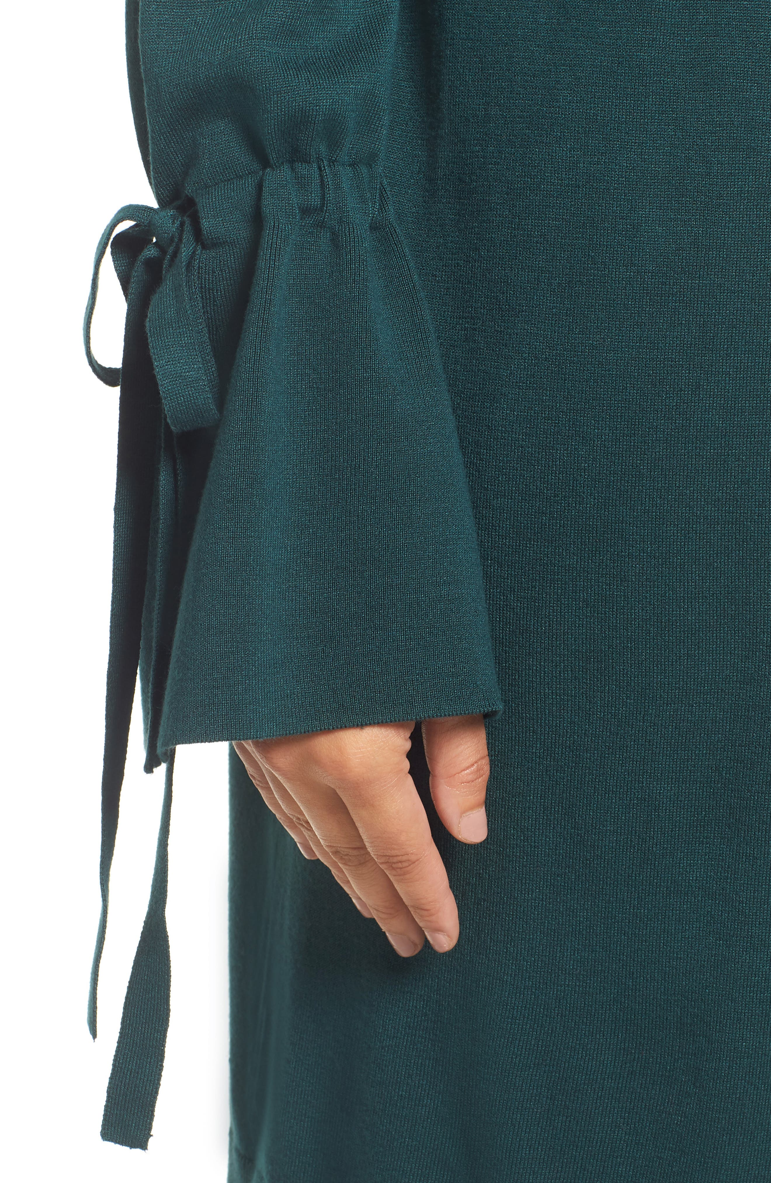 Lightweight Tie Sleeve Cardigan,                             Alternate thumbnail 44, color,