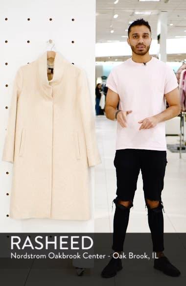 Alpaca Blend Long Coat, sales video thumbnail