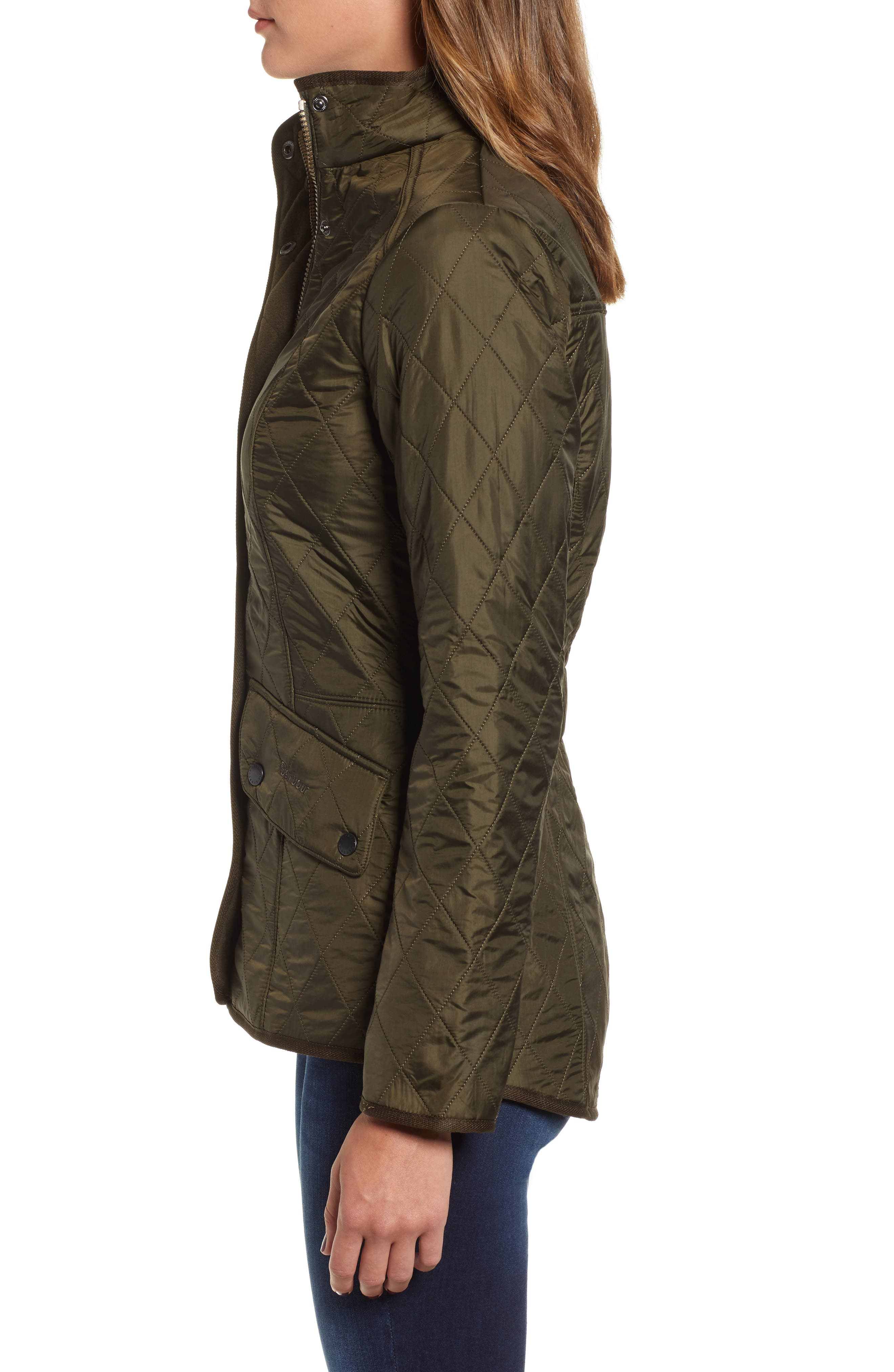 'Cavalry' Quilted Jacket,                             Alternate thumbnail 39, color,