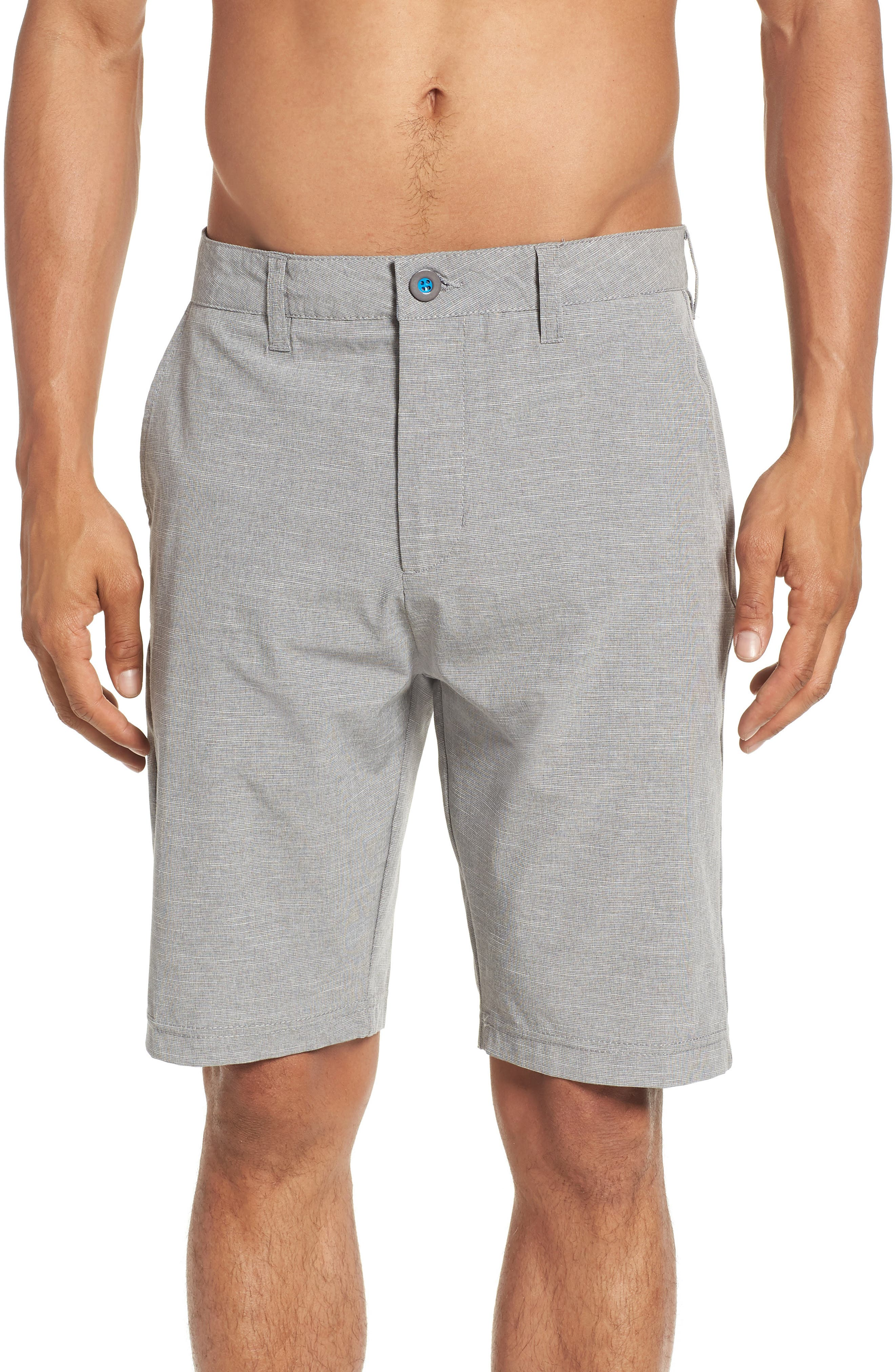 DEVEREUX,                             Cruiser Hybrid Shorts,                             Alternate thumbnail 4, color,                             STEEL