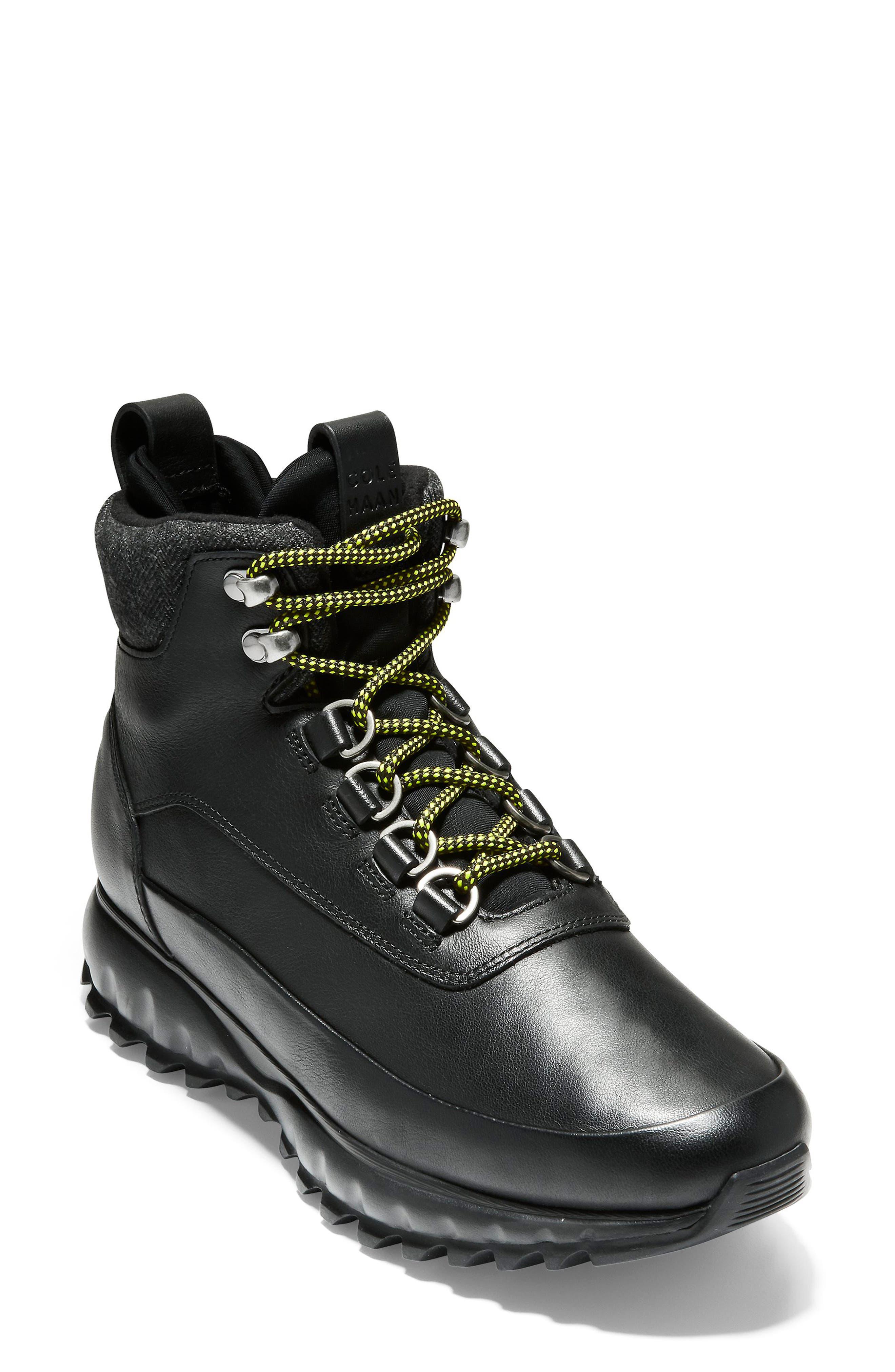 GrandExplore All Terrain Waterproof Hiking Boot,                             Main thumbnail 1, color,                             BLACK WATERPROOF LEATHER