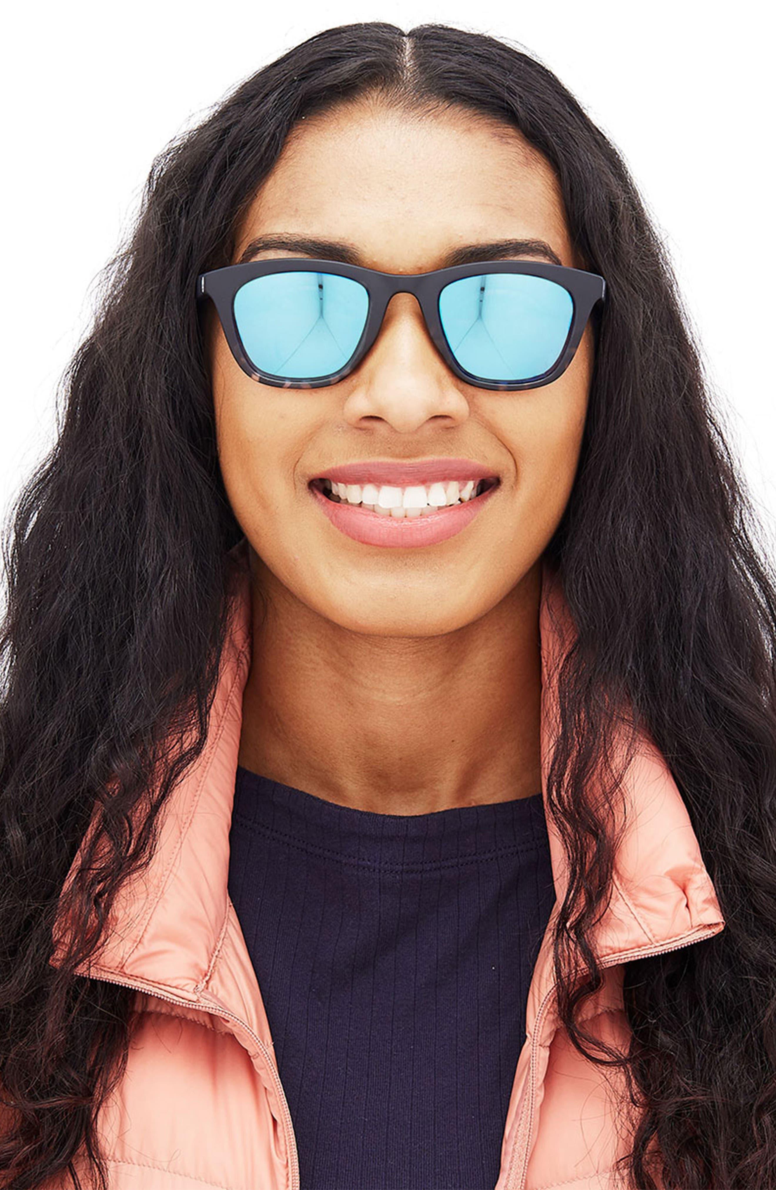 Manresa 49mm Polarized Sunglasses,                             Alternate thumbnail 5, color,                             BLACK TORTOISE SLATE