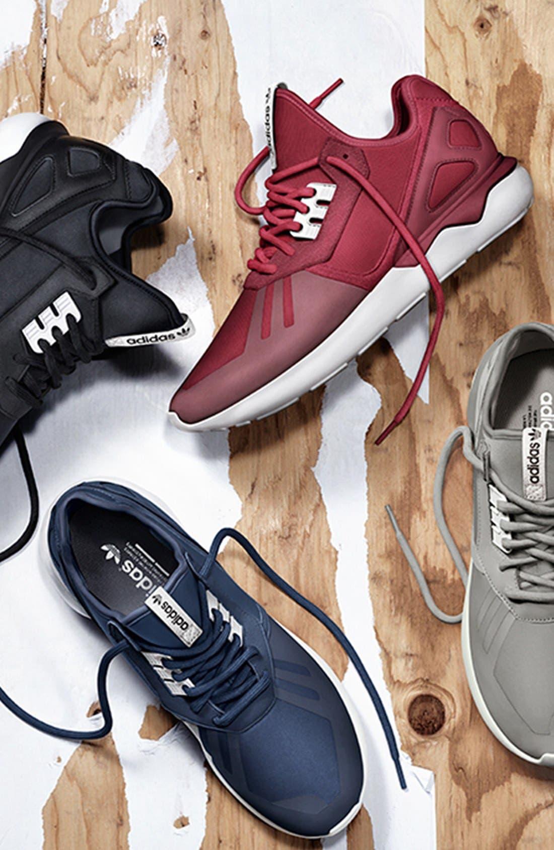 ADIDAS,                             'Tubular Runner' Sneaker,                             Alternate thumbnail 5, color,                             001