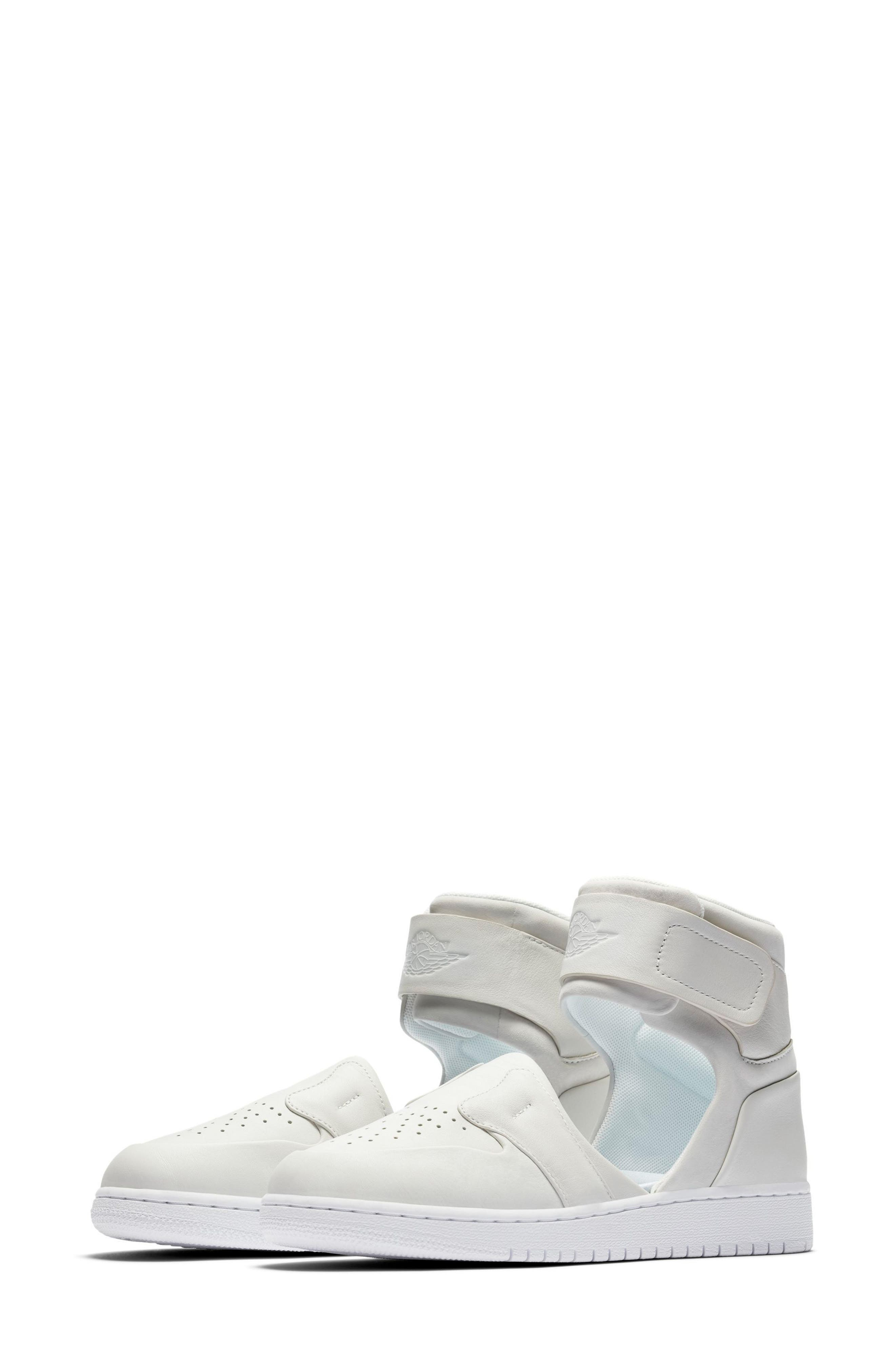 Air Jordan 1 Lover XX Ankle Strap Sneaker,                         Main,                         color, 100
