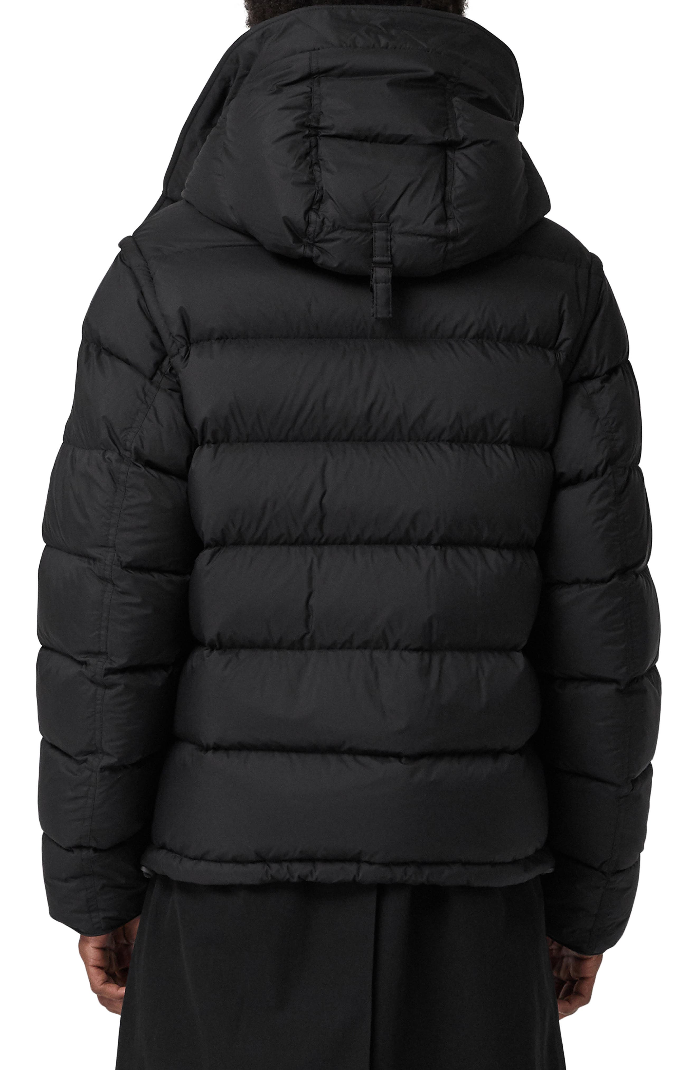 Hartley Hybrid Jacket with Detachable Sleeves,                             Alternate thumbnail 3, color,                             001