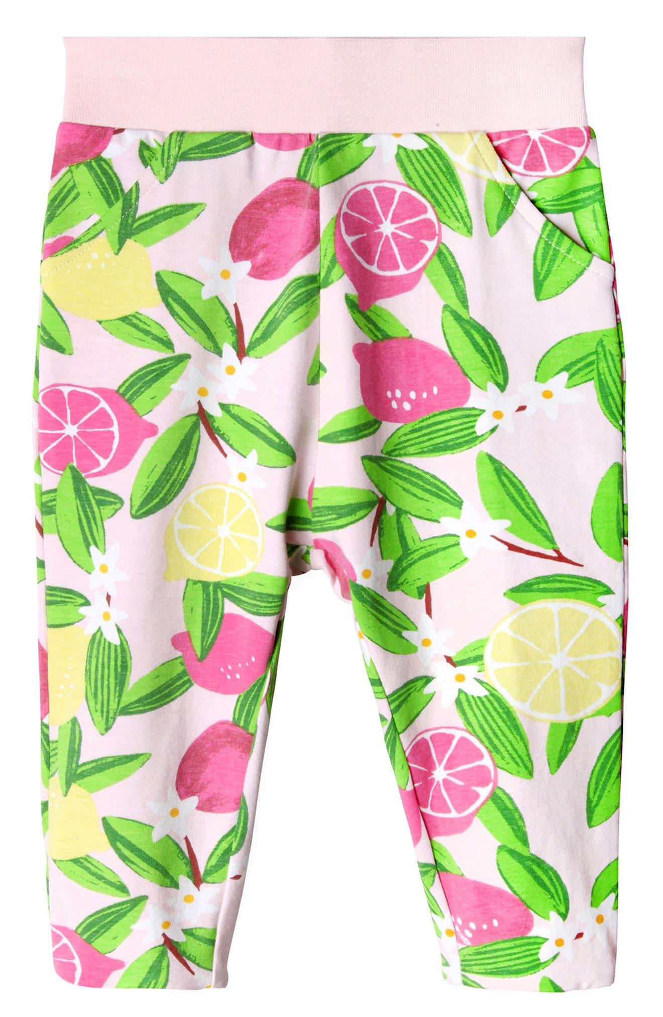 Lucy Lemonade Leggings,                             Main thumbnail 1, color,                             PINK LEMONADE