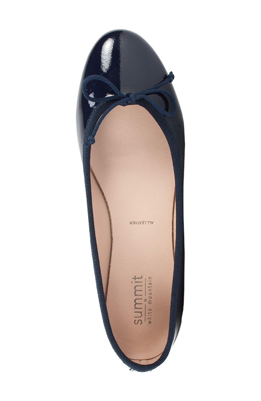 Summit 'Kendall' Ballet Flat,                             Alternate thumbnail 36, color,