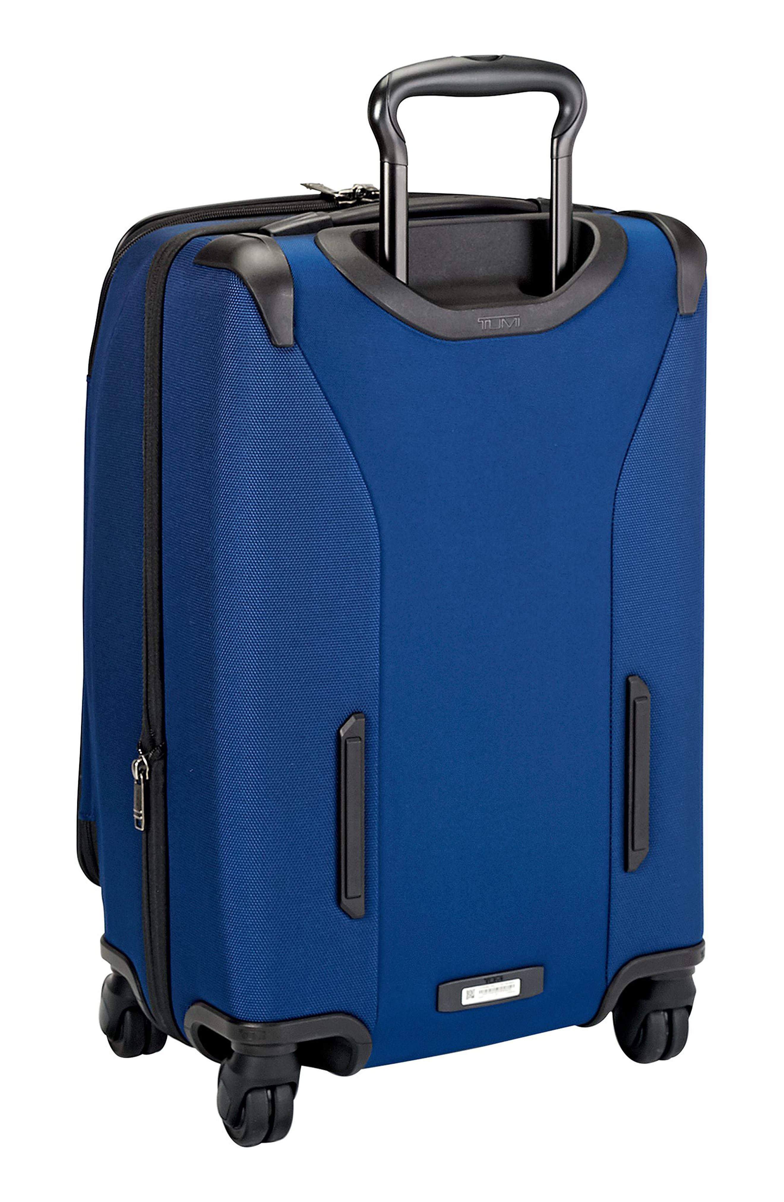 Merge - 22-Inch International Expandable Rolling Carry-On,                             Alternate thumbnail 4, color,                             OCEAN BLUE