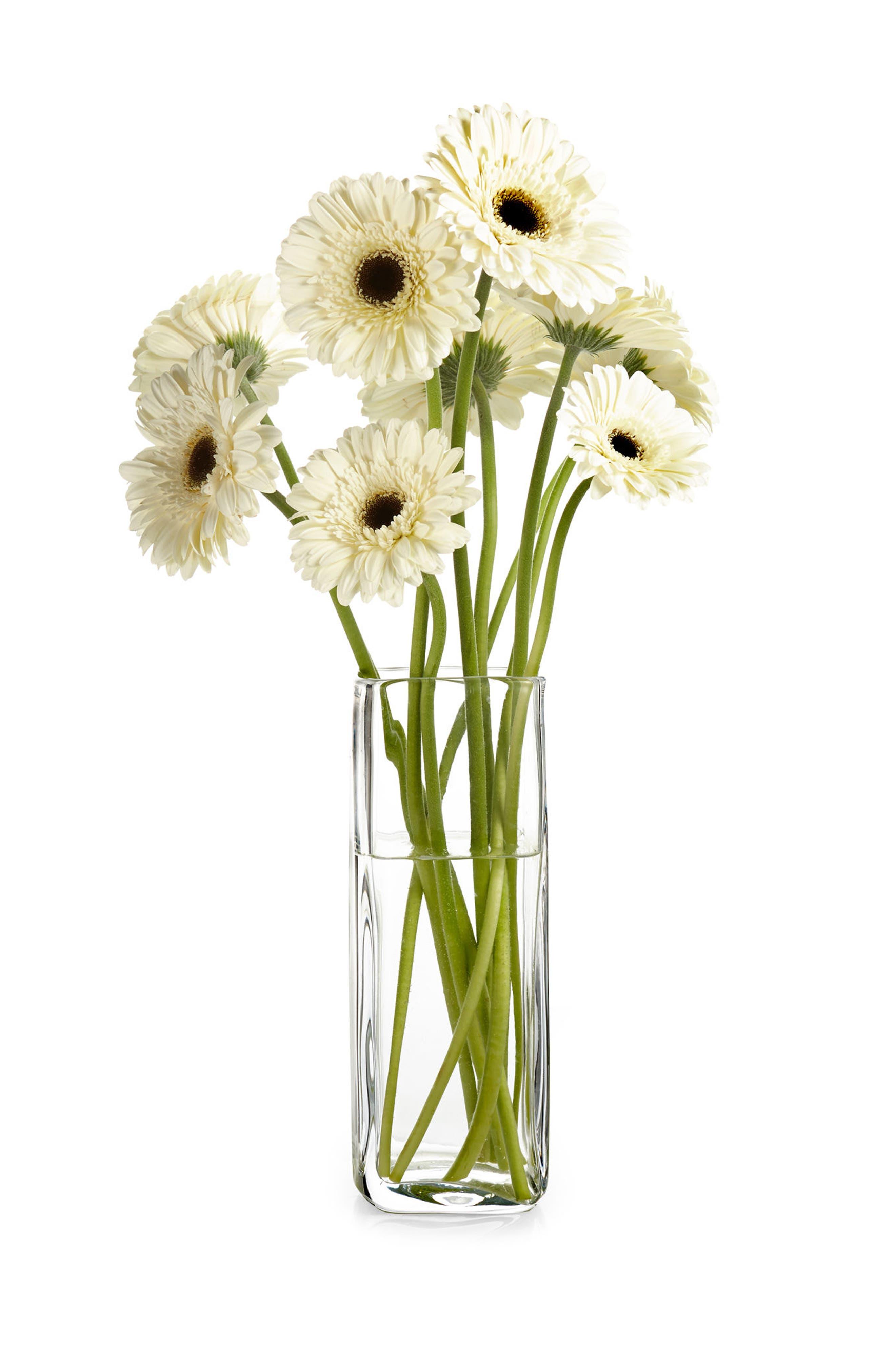 Moderne 10-Inch Square Vase,                             Alternate thumbnail 2, color,                             100