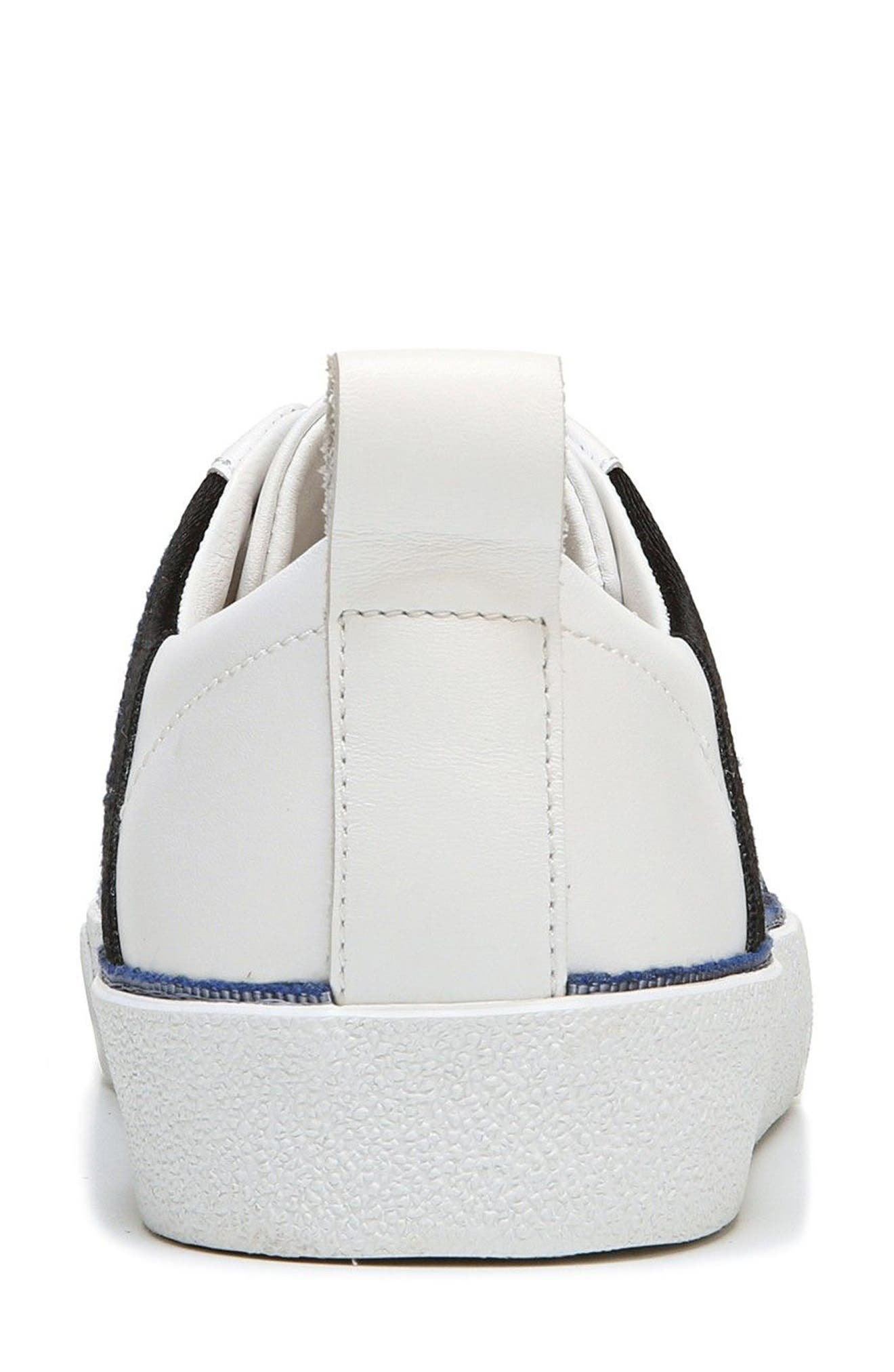 Tess Lace-Up Sneaker,                             Alternate thumbnail 2, color,                             WHITE/ LIPSTICK