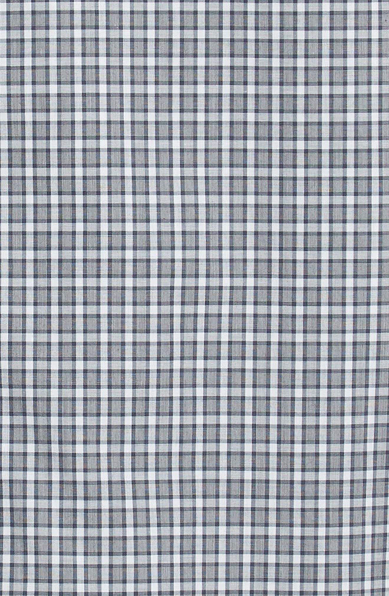 Sylvain Regular Fit Check Sport Shirt,                             Alternate thumbnail 6, color,                             NAVY MULTI