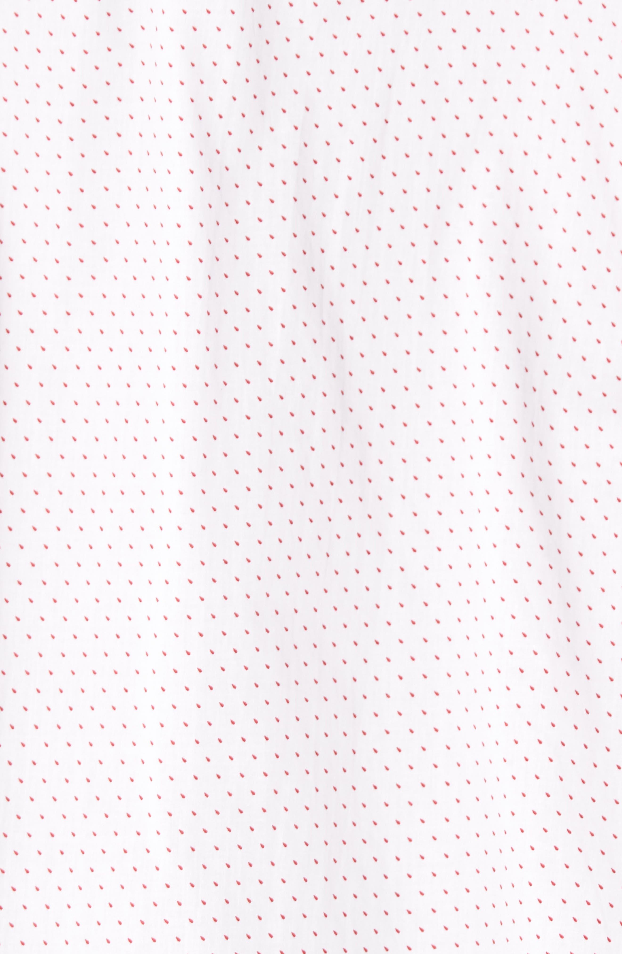 Dot Print Shirt,                             Alternate thumbnail 5, color,