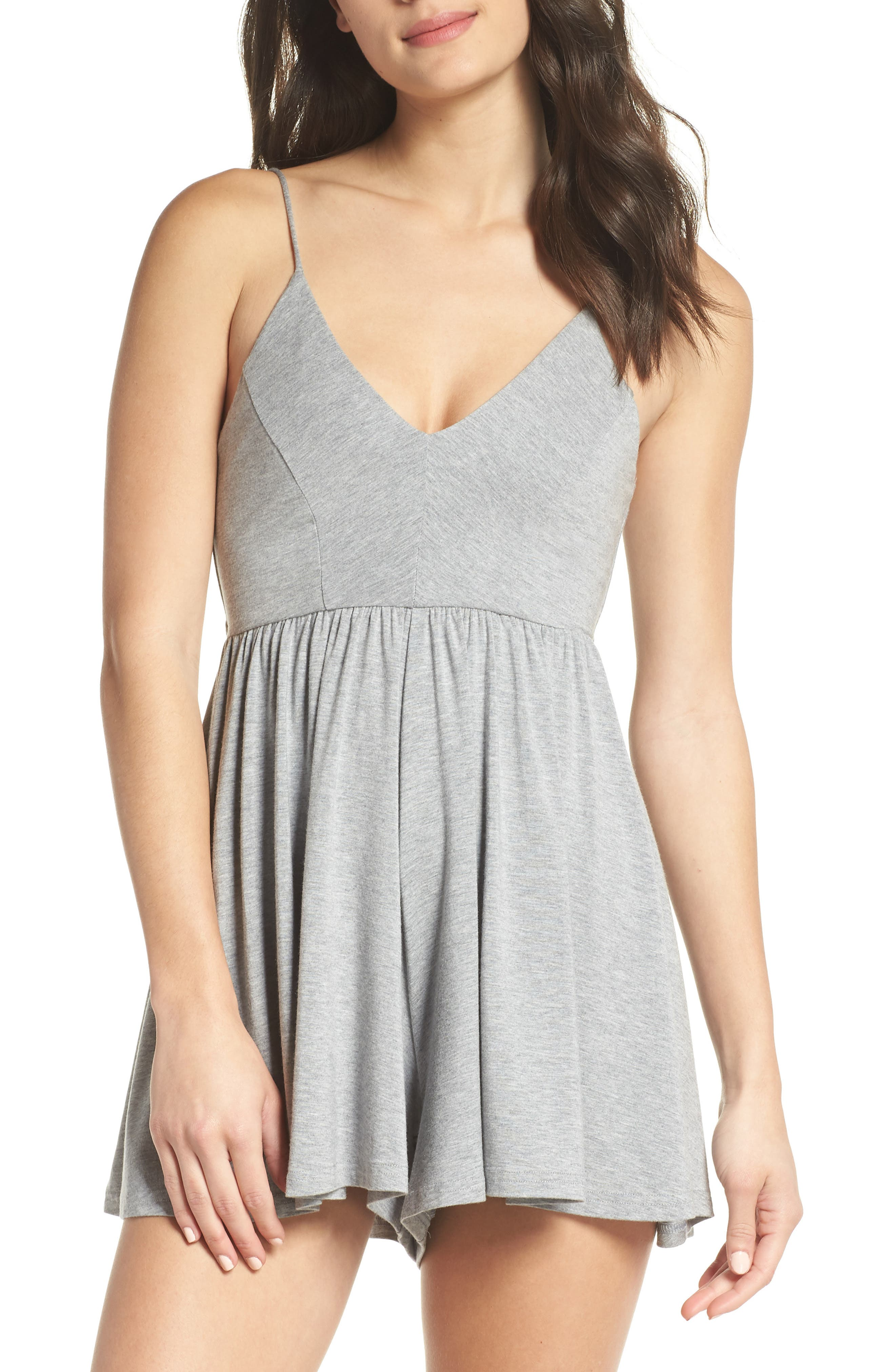 Back Keyhole Romper,                             Main thumbnail 1, color,                             060
