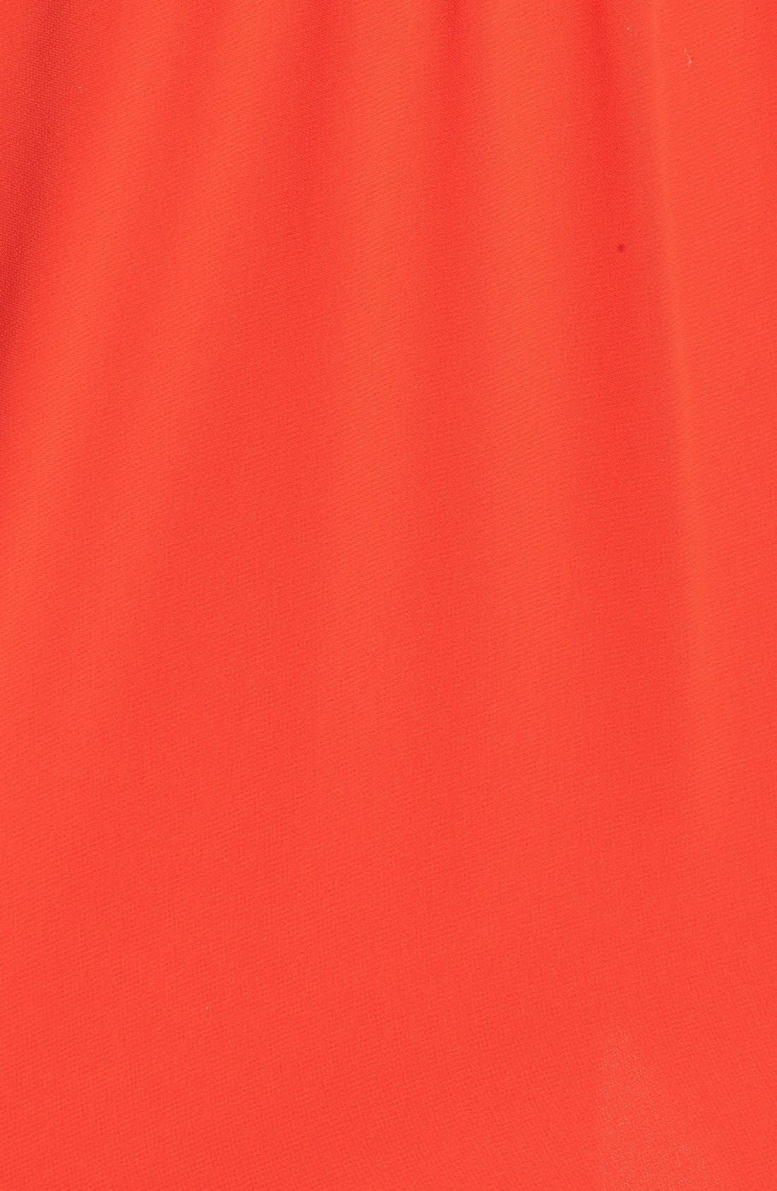 Blouson Chiffon Skater Dress,                             Alternate thumbnail 146, color,