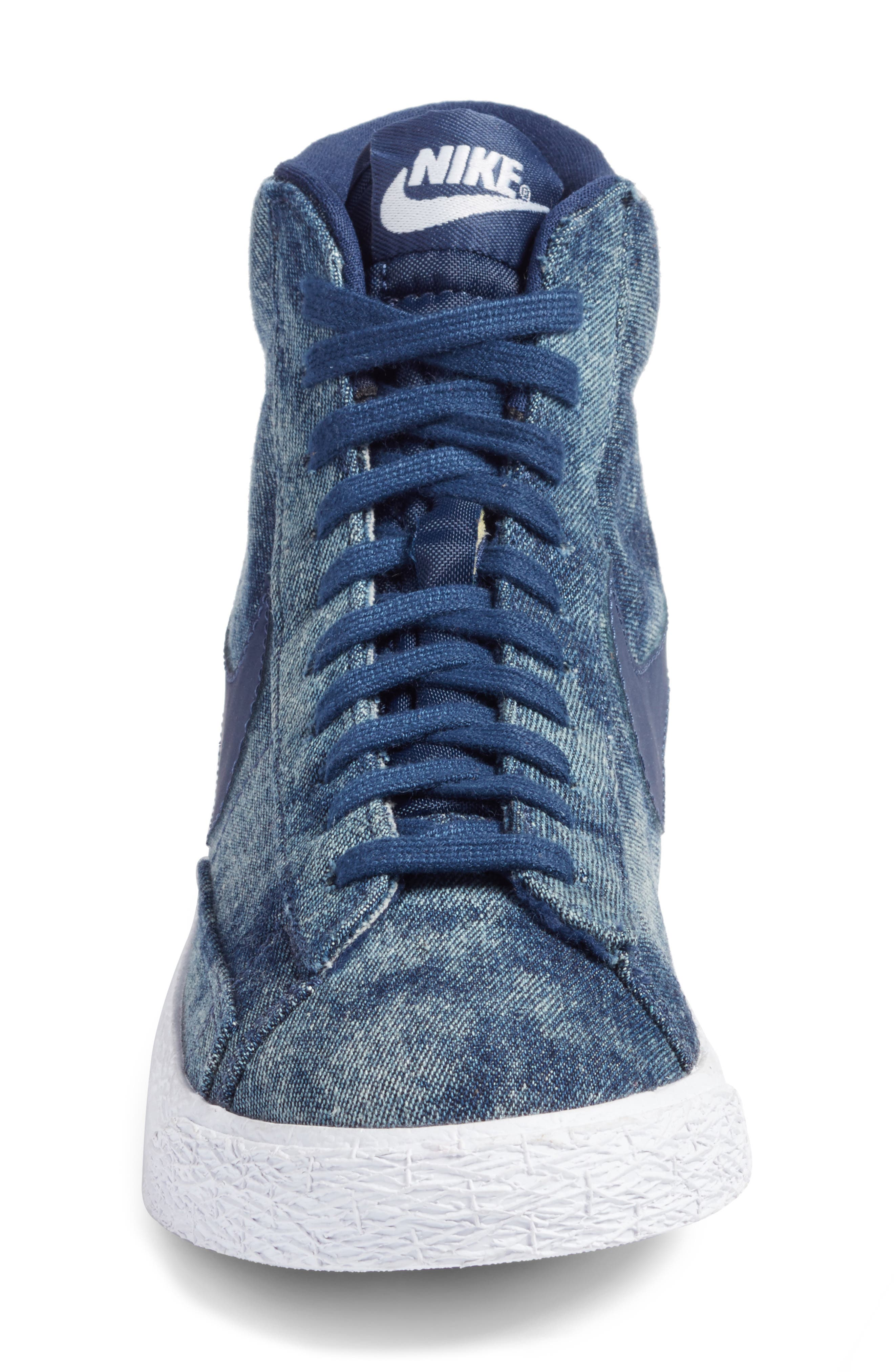 Blazer Mid SE High Top Sneaker,                             Alternate thumbnail 12, color,