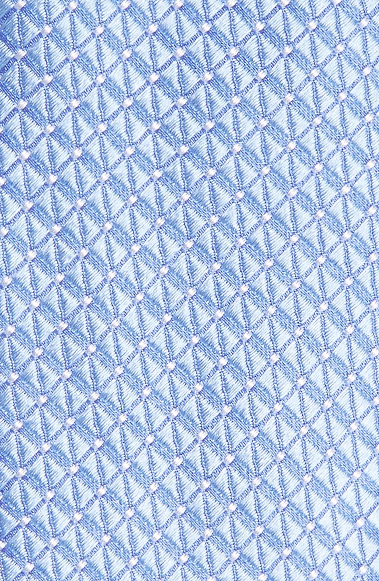 Nordstrom Men's Shop Hammond Neat Silk Tie,                             Alternate thumbnail 8, color,