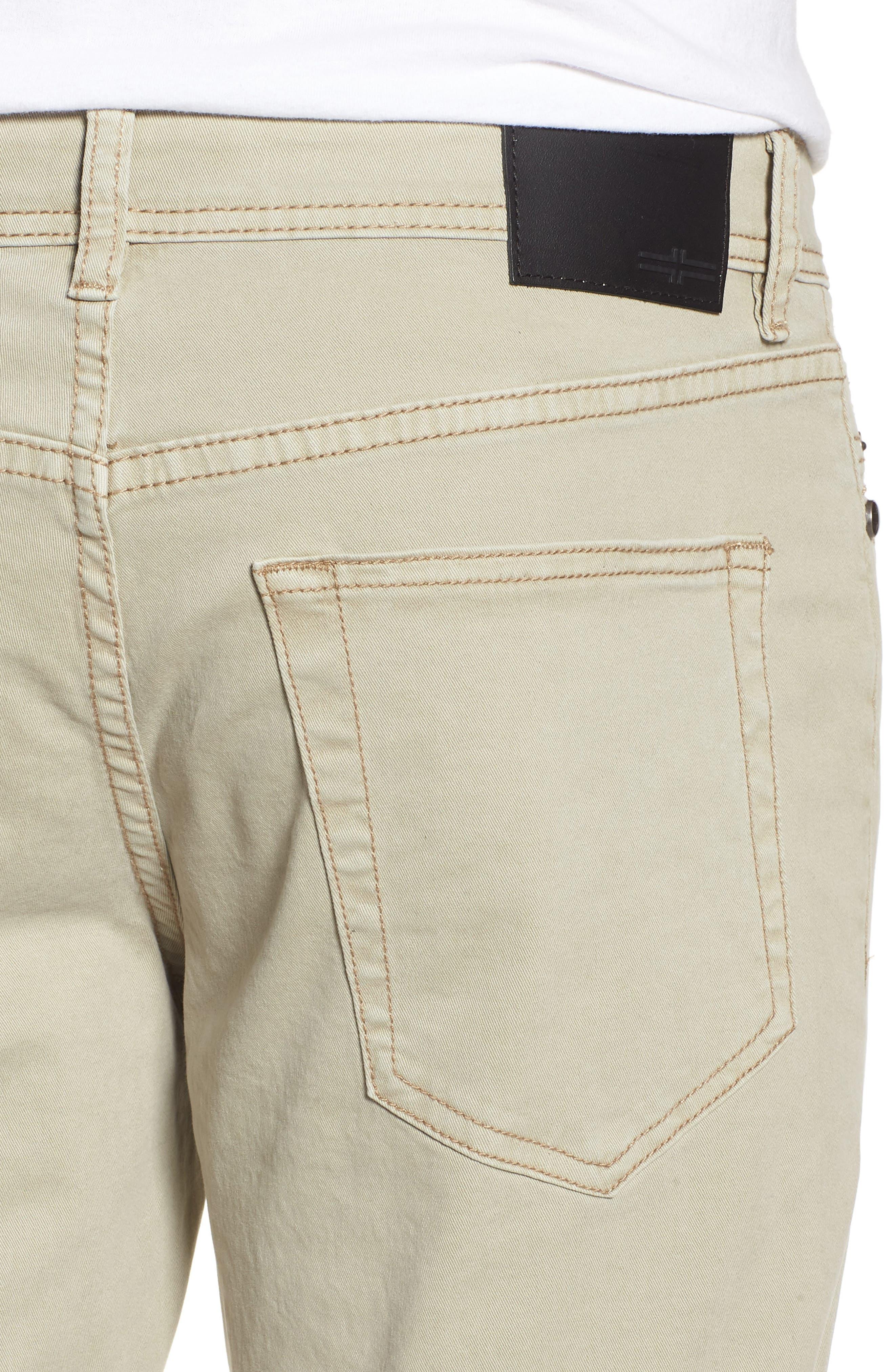 Jeans Co. Kingston Slim Straight Leg Jeans,                             Alternate thumbnail 4, color,                             SANDSTROM