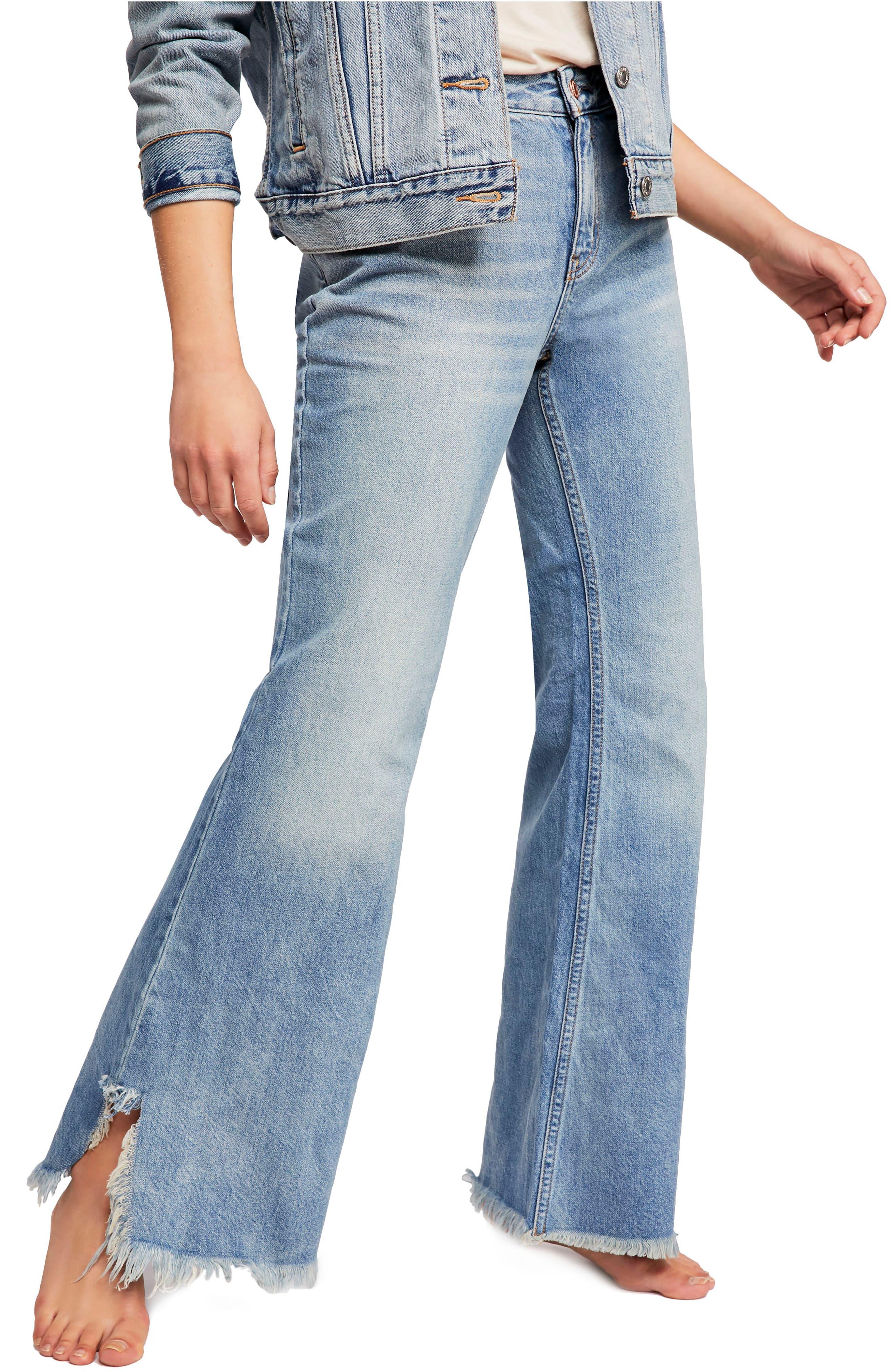 Vintage Flare Jeans,                             Alternate thumbnail 3, color,                             400