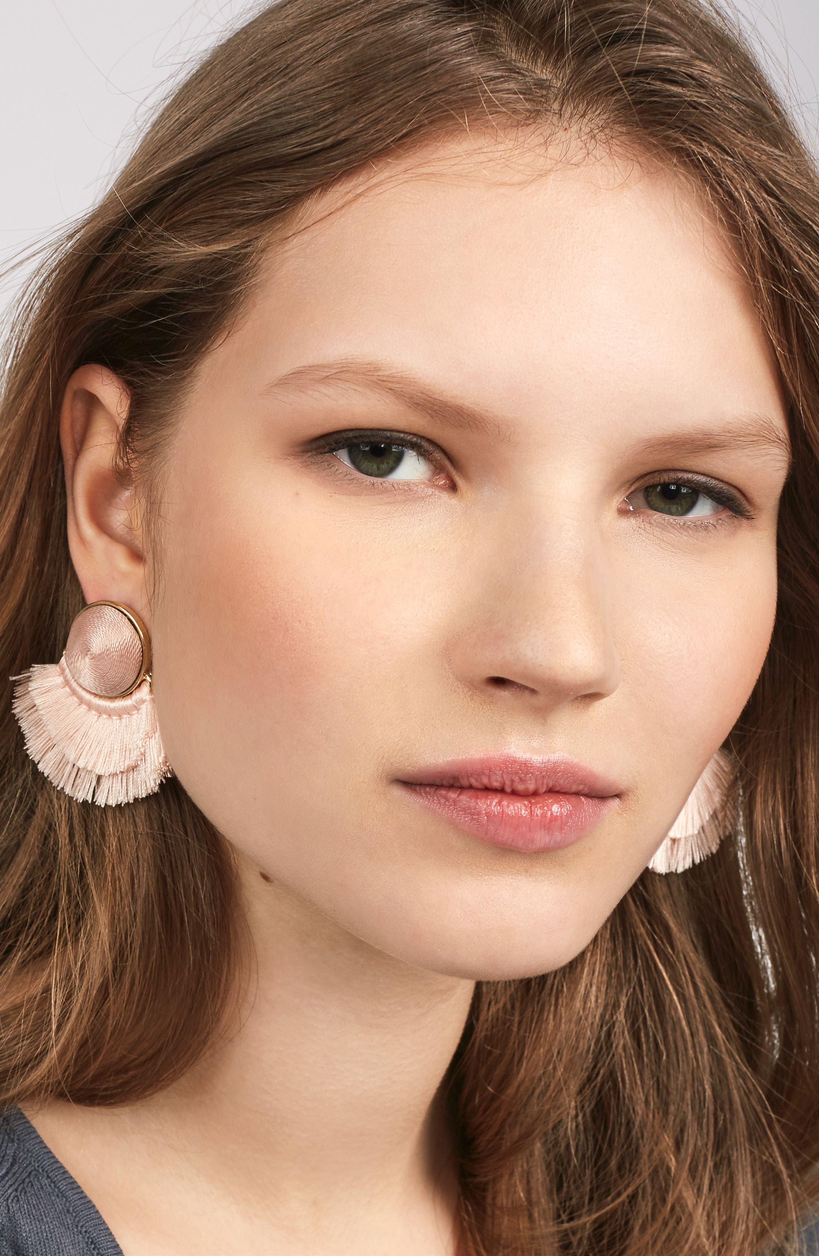 Martina Chubby Deco Fringe Drop Earrings,                             Alternate thumbnail 5, color,