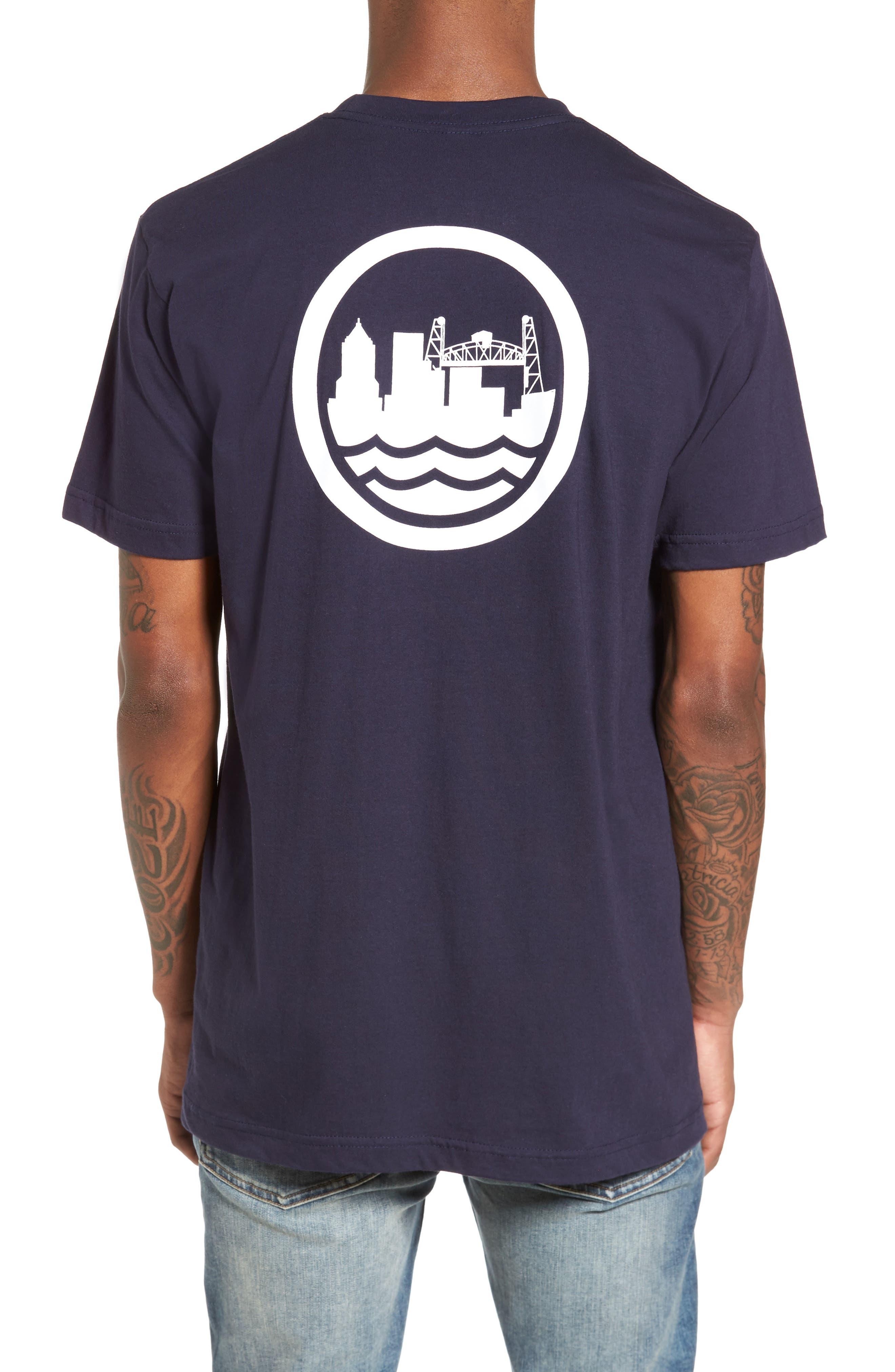 PDX T-Shirt,                             Alternate thumbnail 4, color,