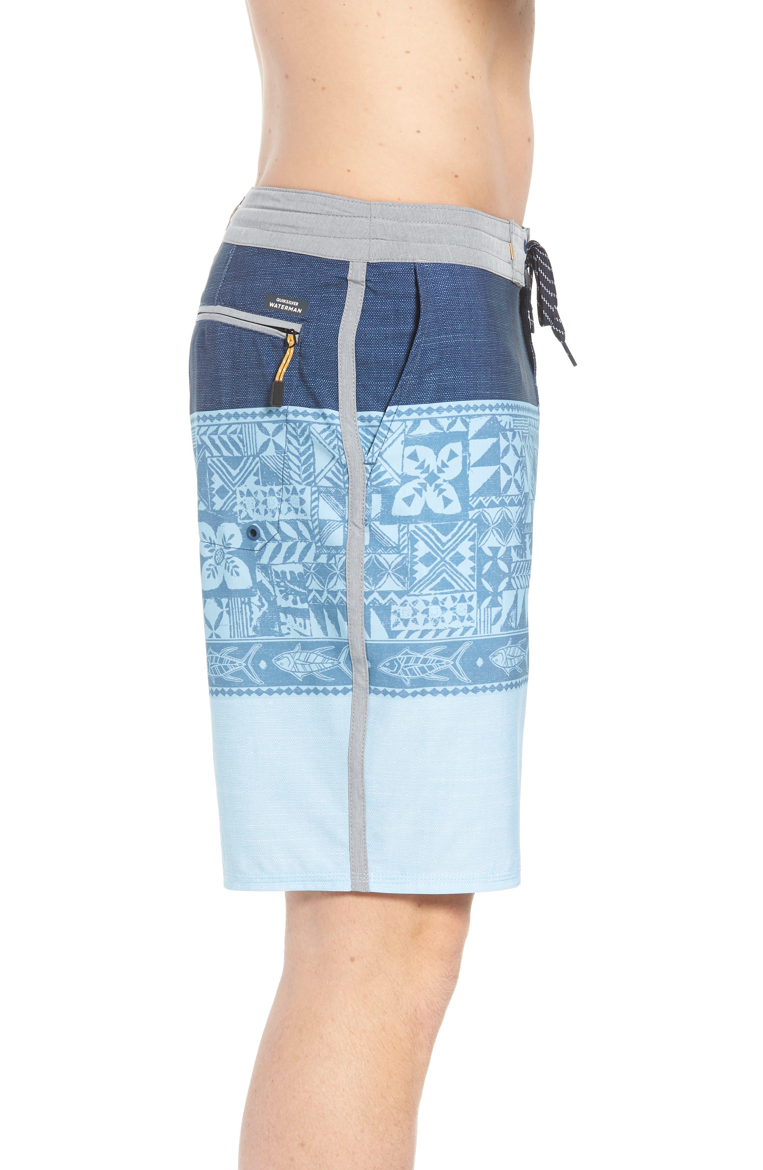 Liberty Triblock Board Shorts,                             Alternate thumbnail 3, color,                             401
