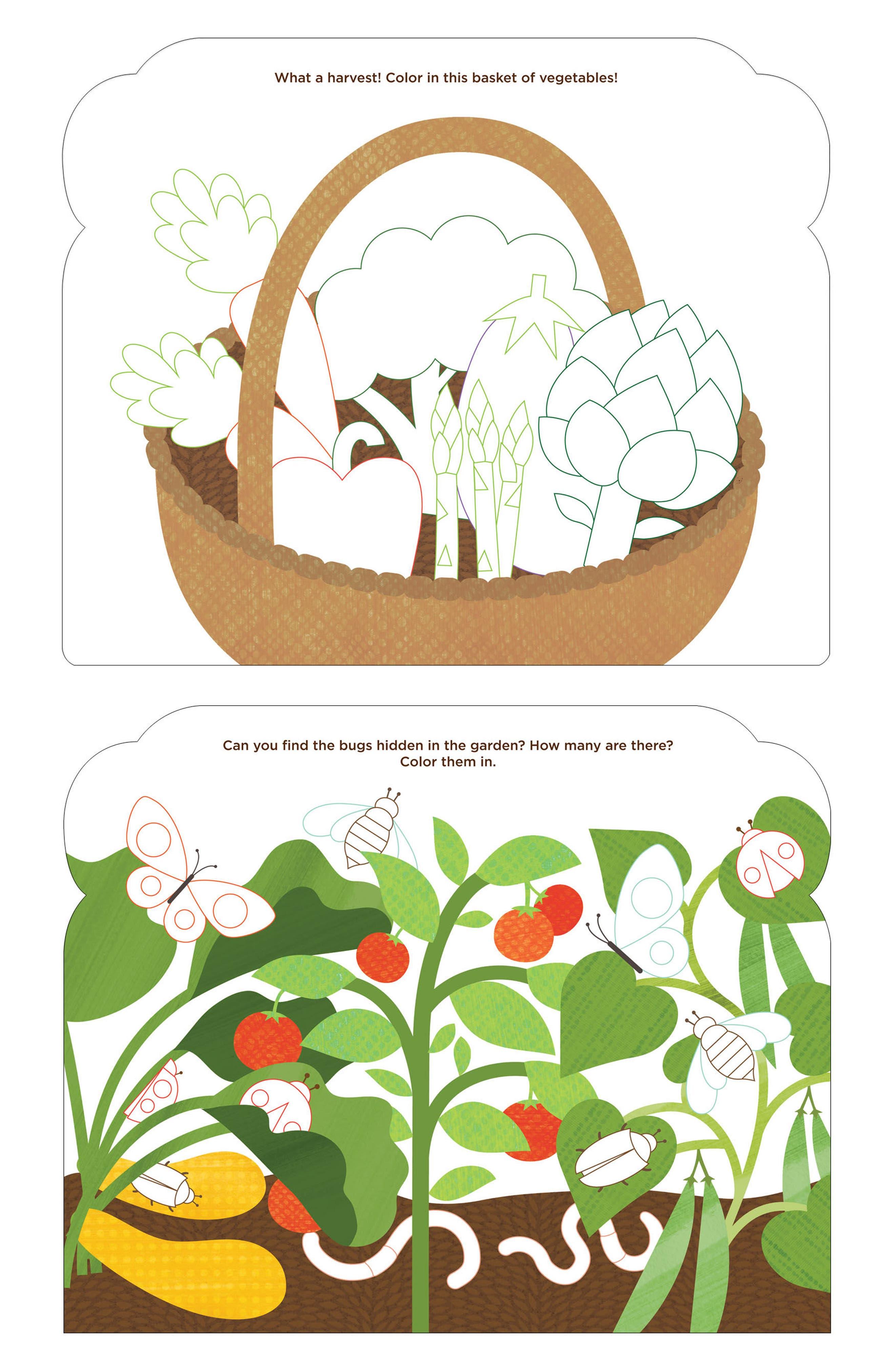 Fresh Harvest Color-Me Activities Book,                             Alternate thumbnail 2, color,                             300