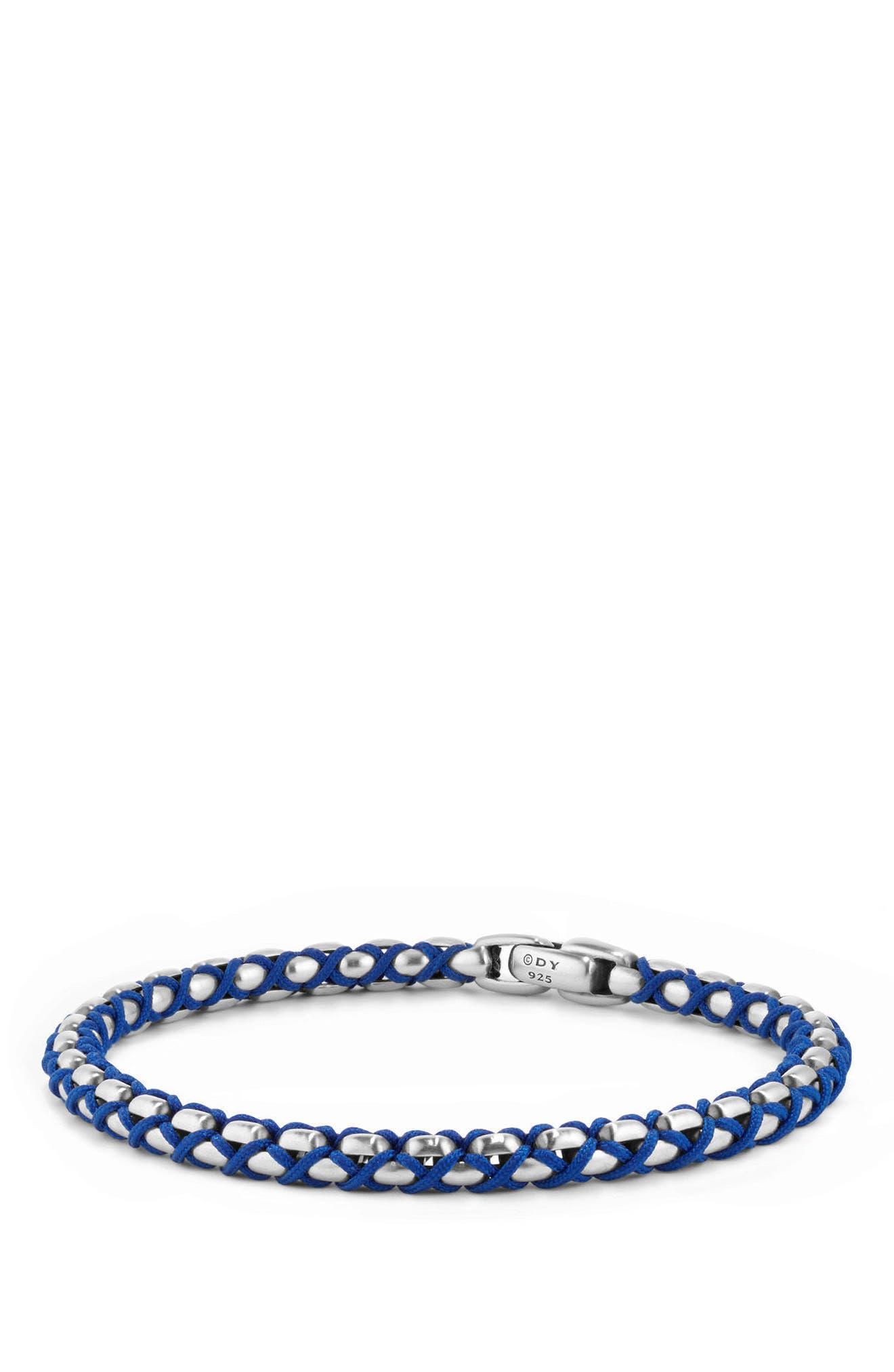 Chain Woven Bracelet,                         Main,                         color, 041
