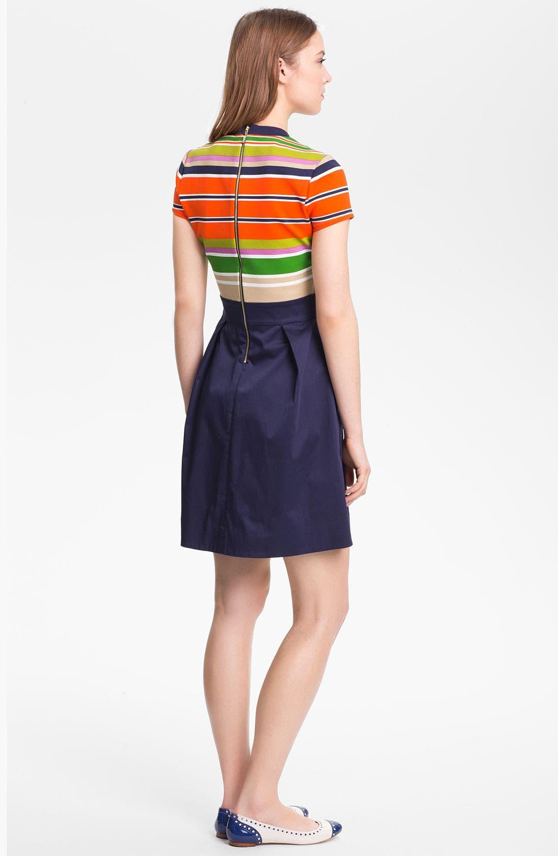 'jessica' stretch a-line dress,                             Alternate thumbnail 2, color,                             800