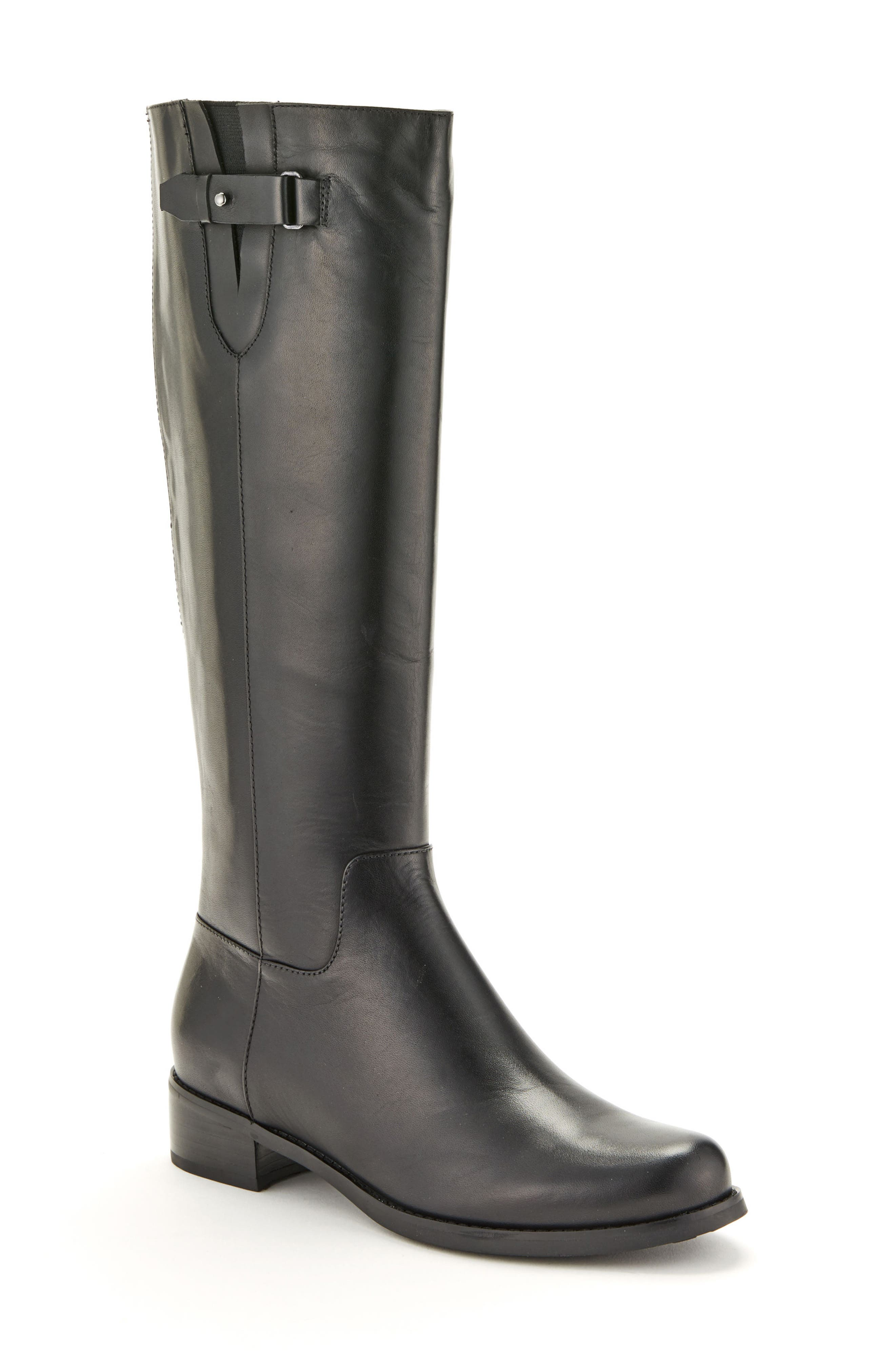 Volly Waterproof Riding Boot,                         Main,                         color, 001